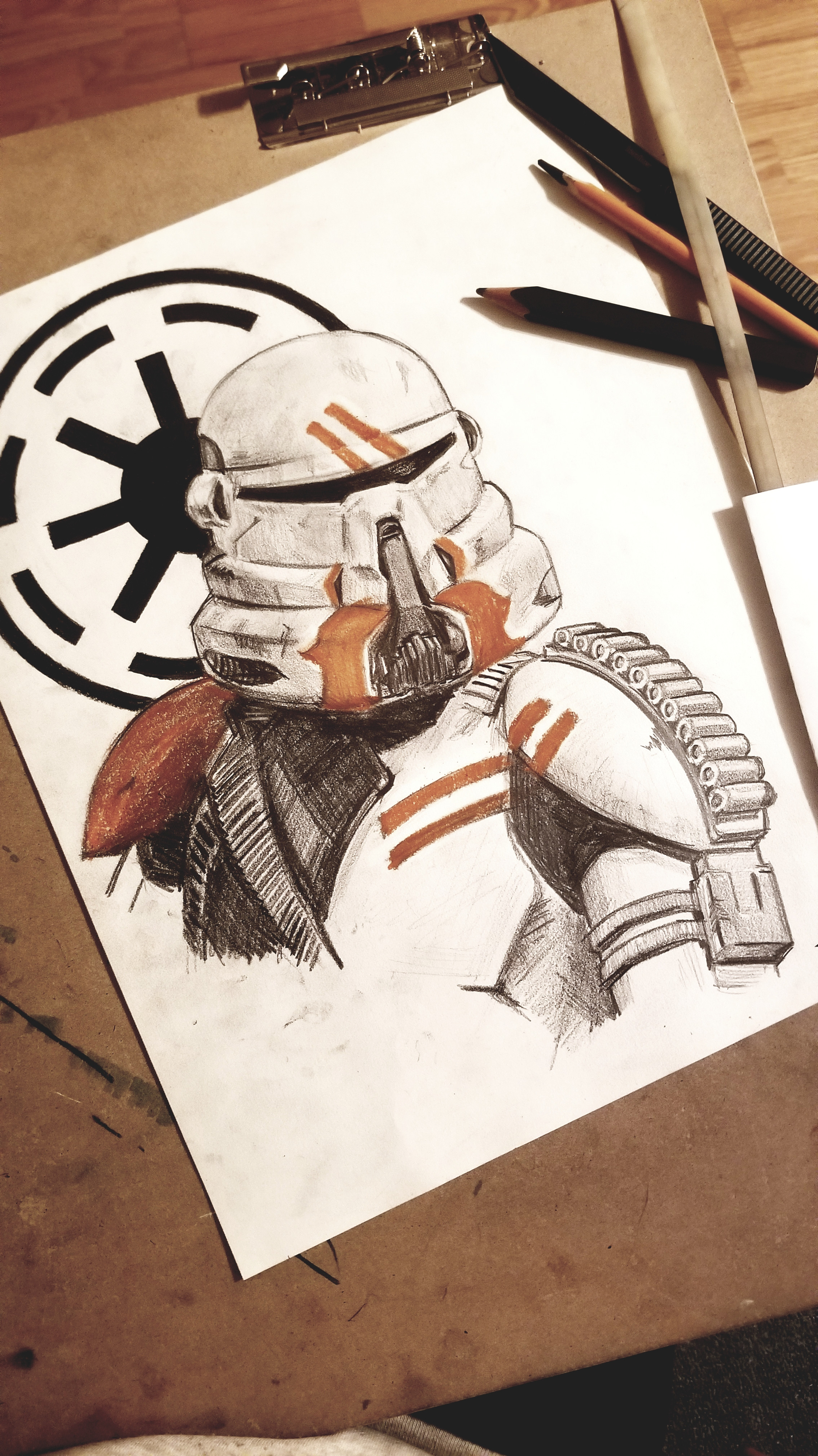 Probably my favorite trooper helmet from the Prequels.