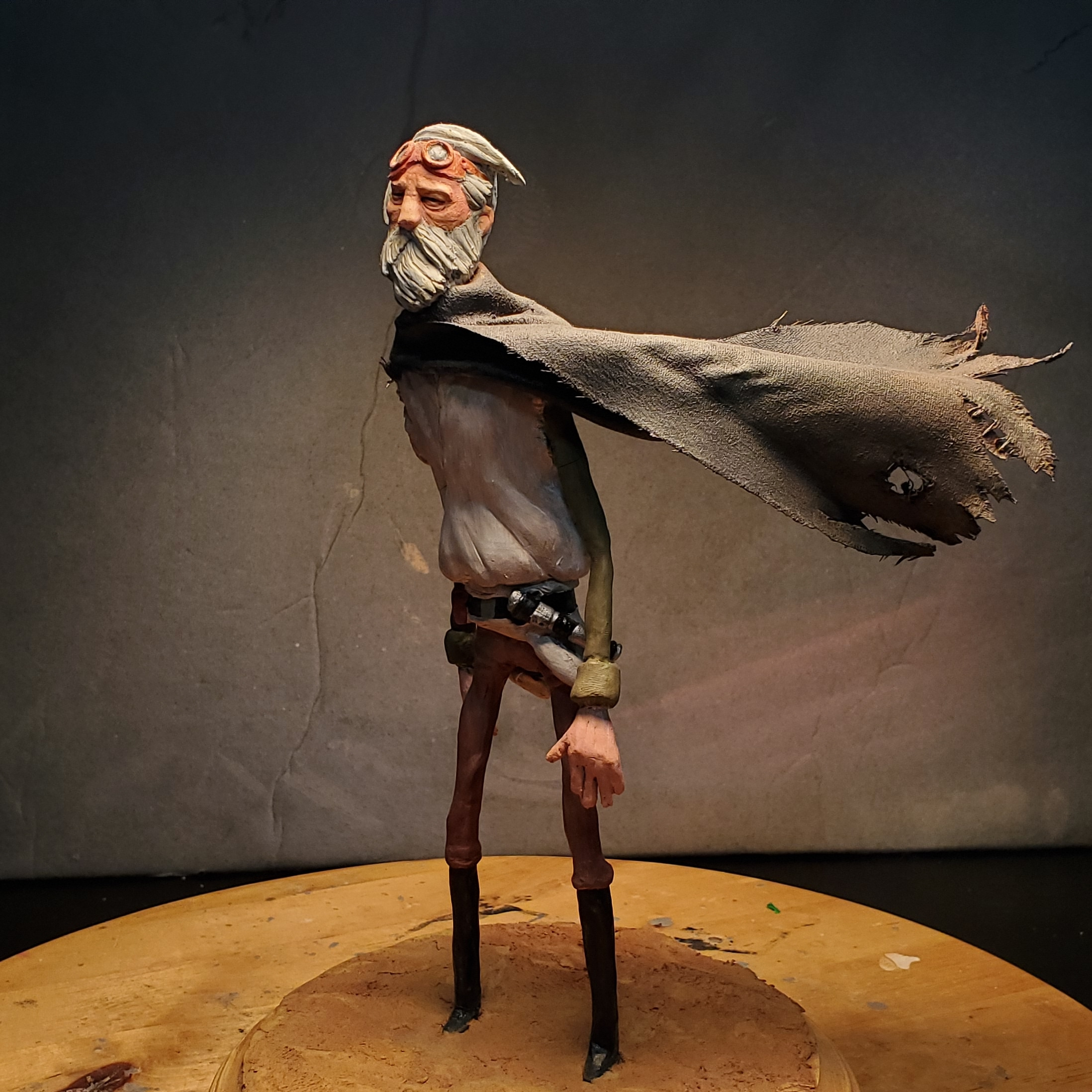 My Obi Wan sculpture