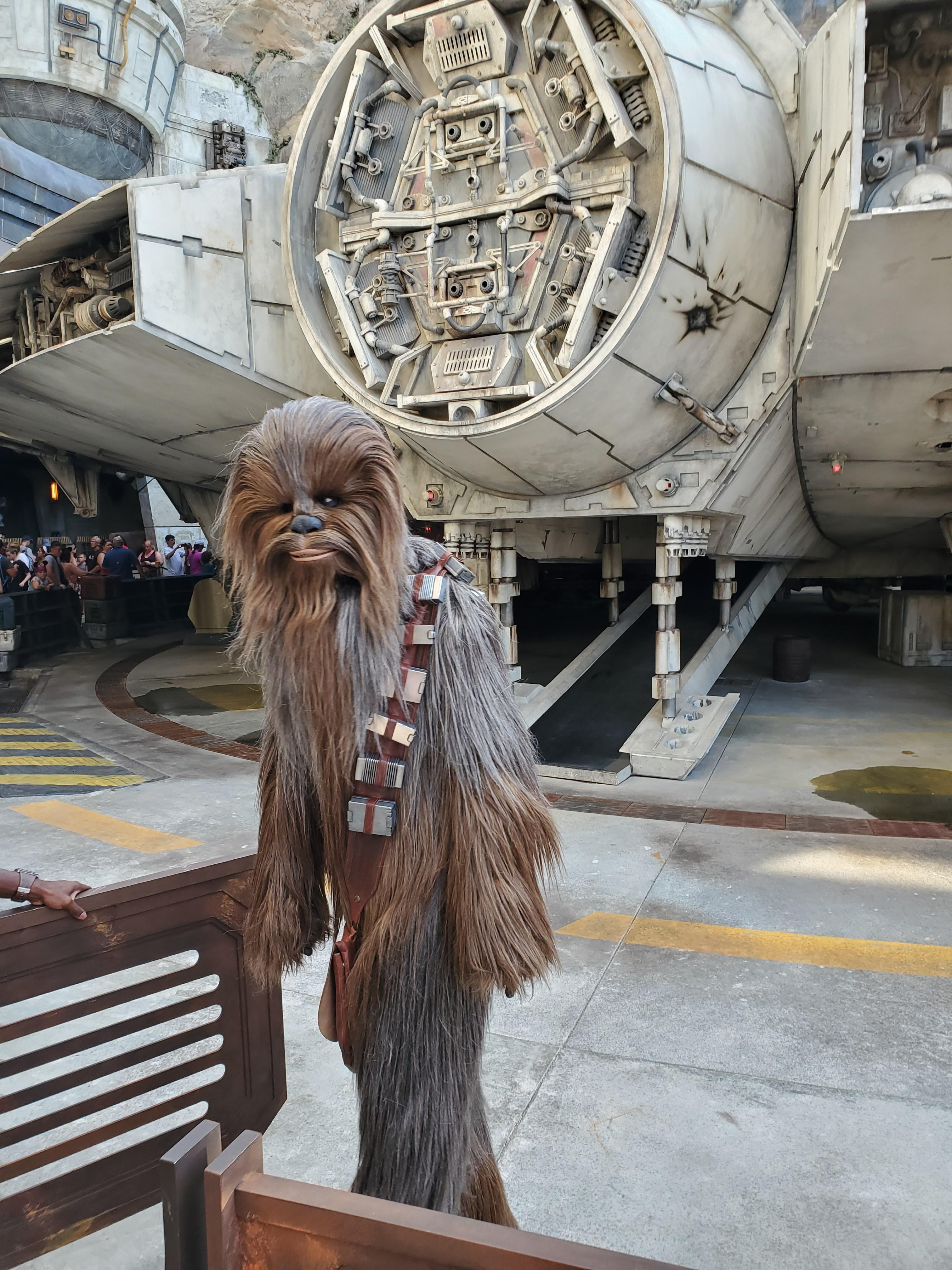 Of all the things I saw in Star Wars: Galaxy\'s Edge, this was what made me geek out the most. The closest connection to ...