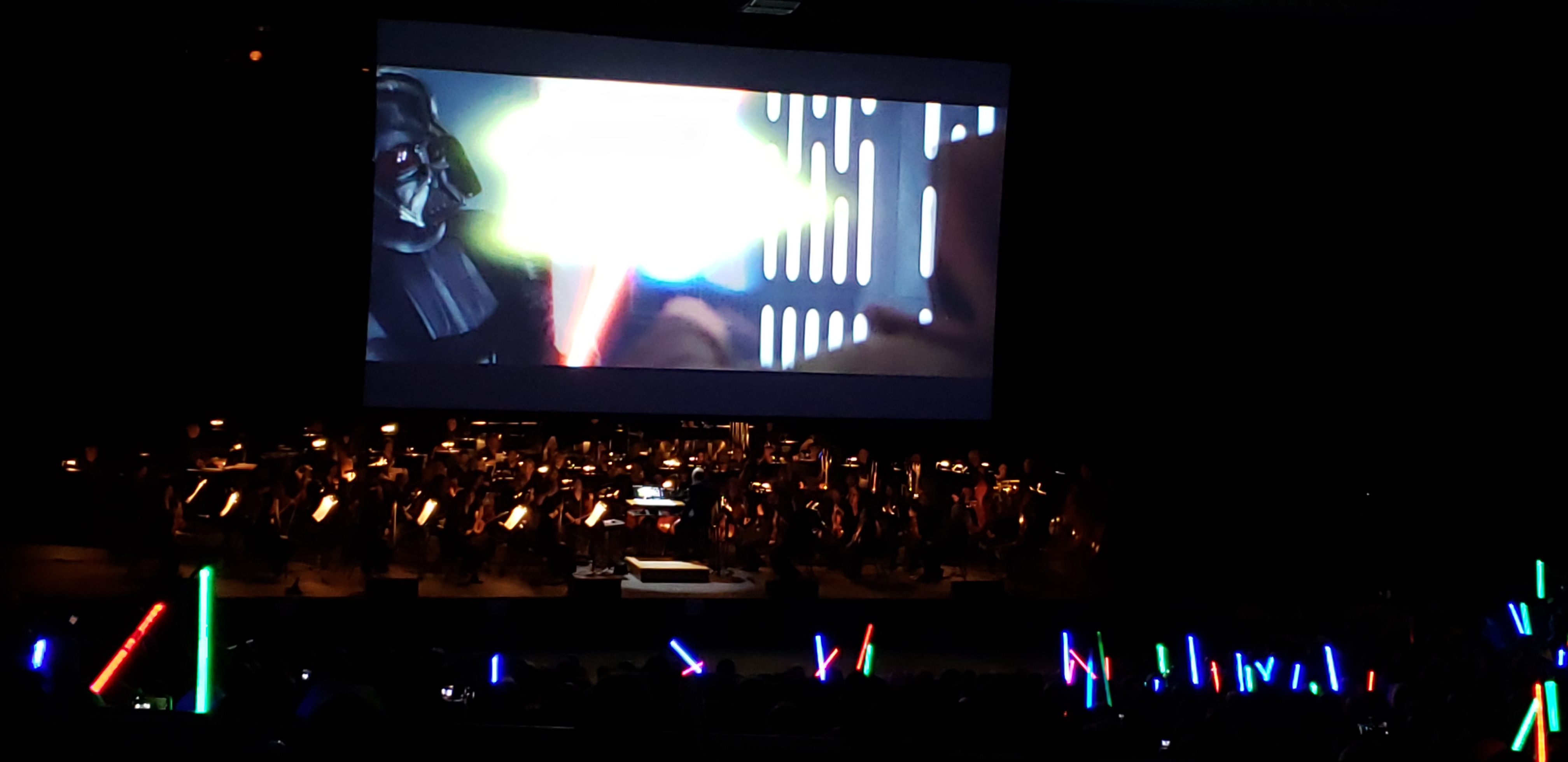At Star Wars Concert - A New Hope