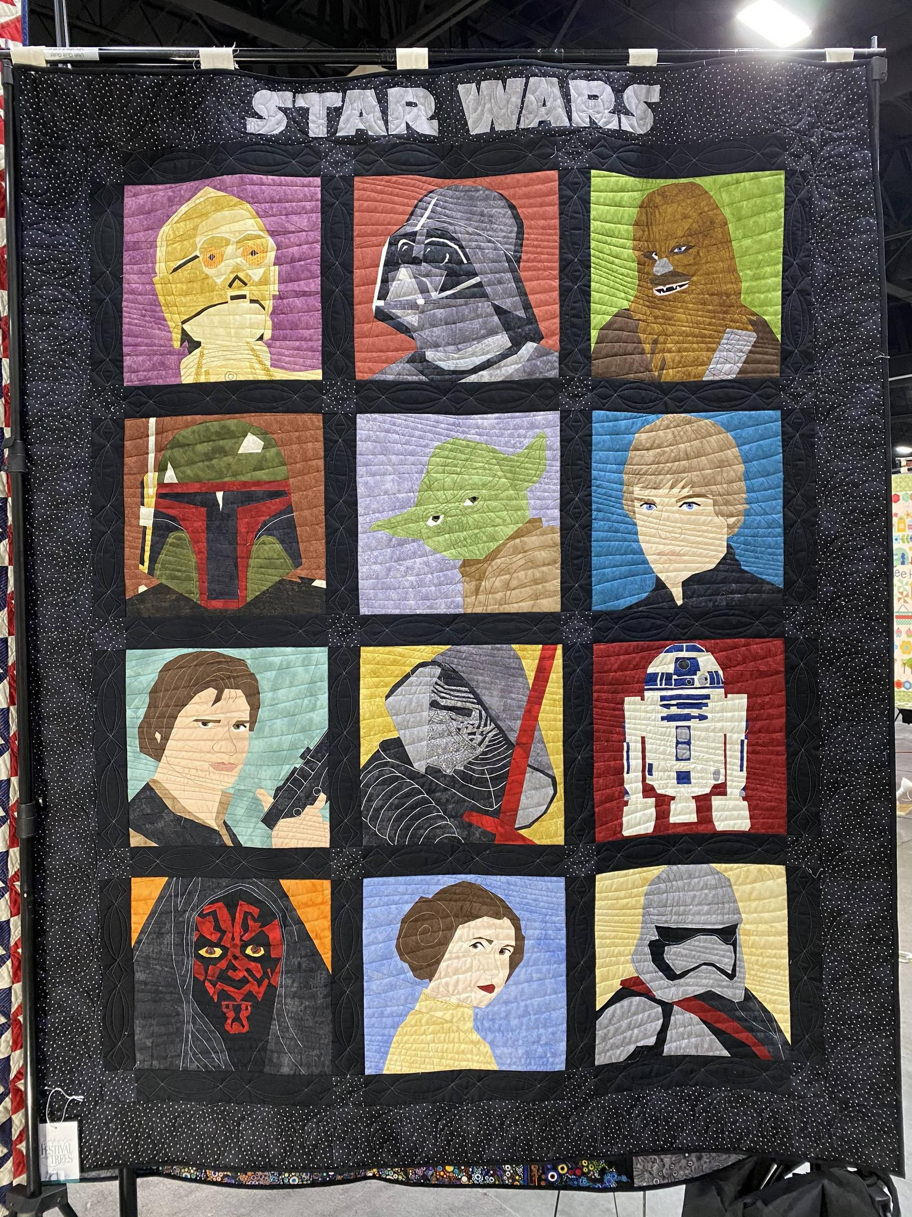Star Wars quilt auctioned off for charity