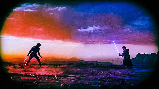 Luke Skywalker vs Kylo Ren Ep VIII cinema edit