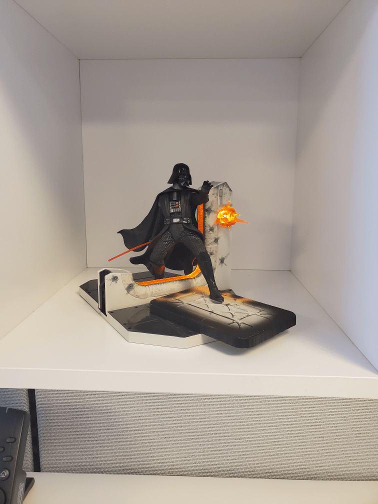 Just got a desk job after 13 years of retail, just had to rep the dark side!