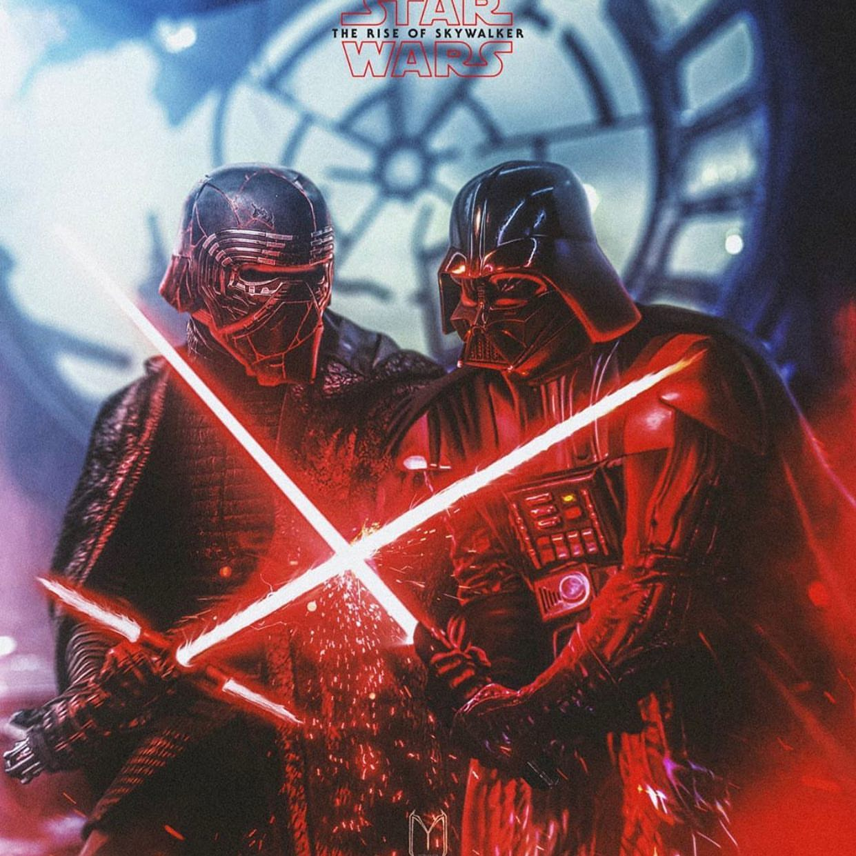 Would have been cool to see Vader completely wreck Kylo in a very heated duel. I think it would have done a lot for Kylo...