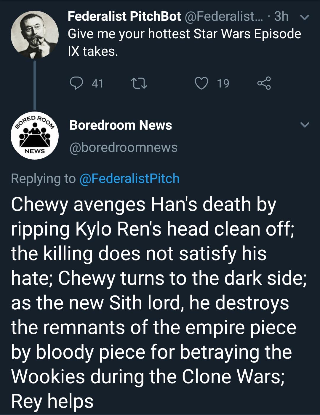 Episode IX plot revealed