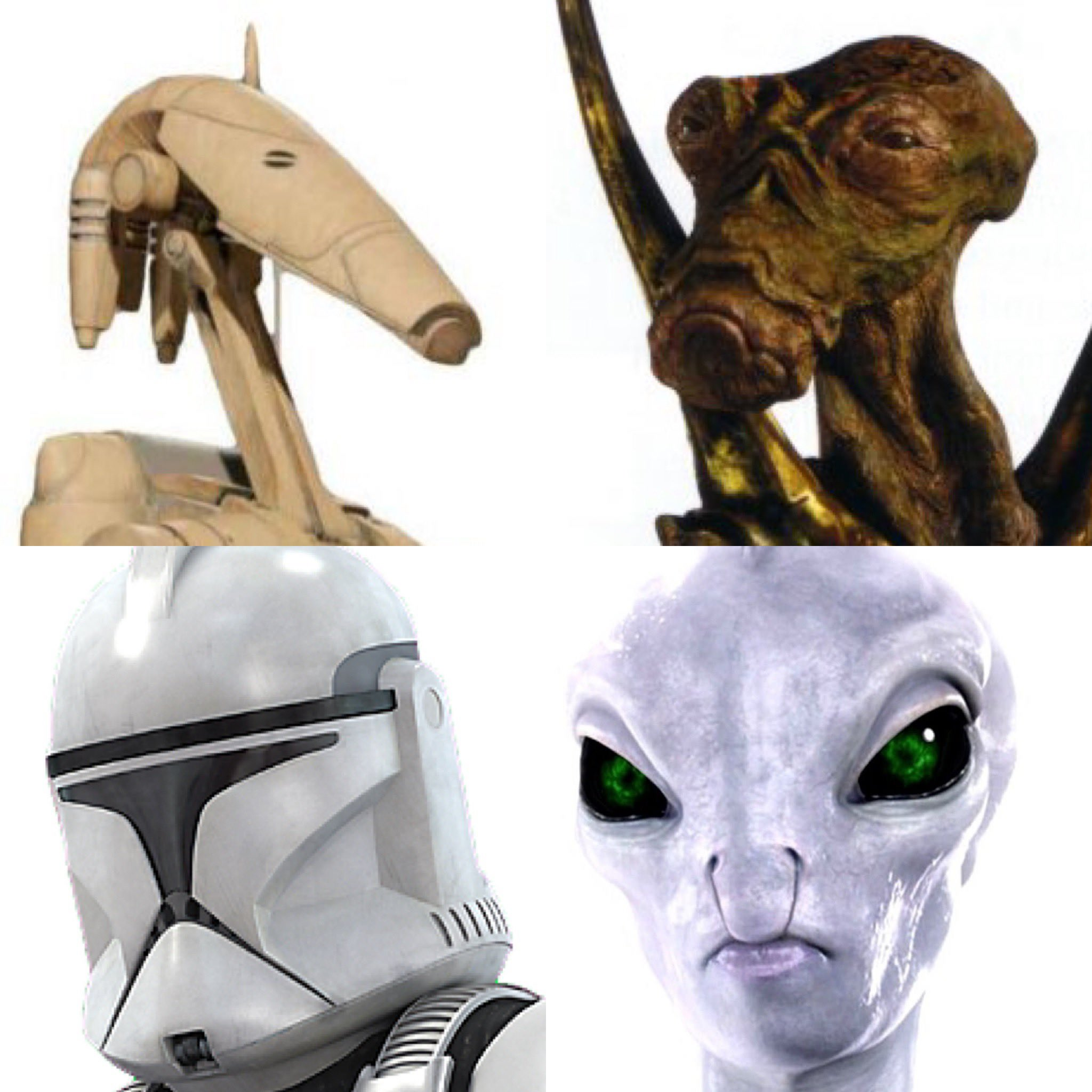 The soldiers were made in their creators likeness