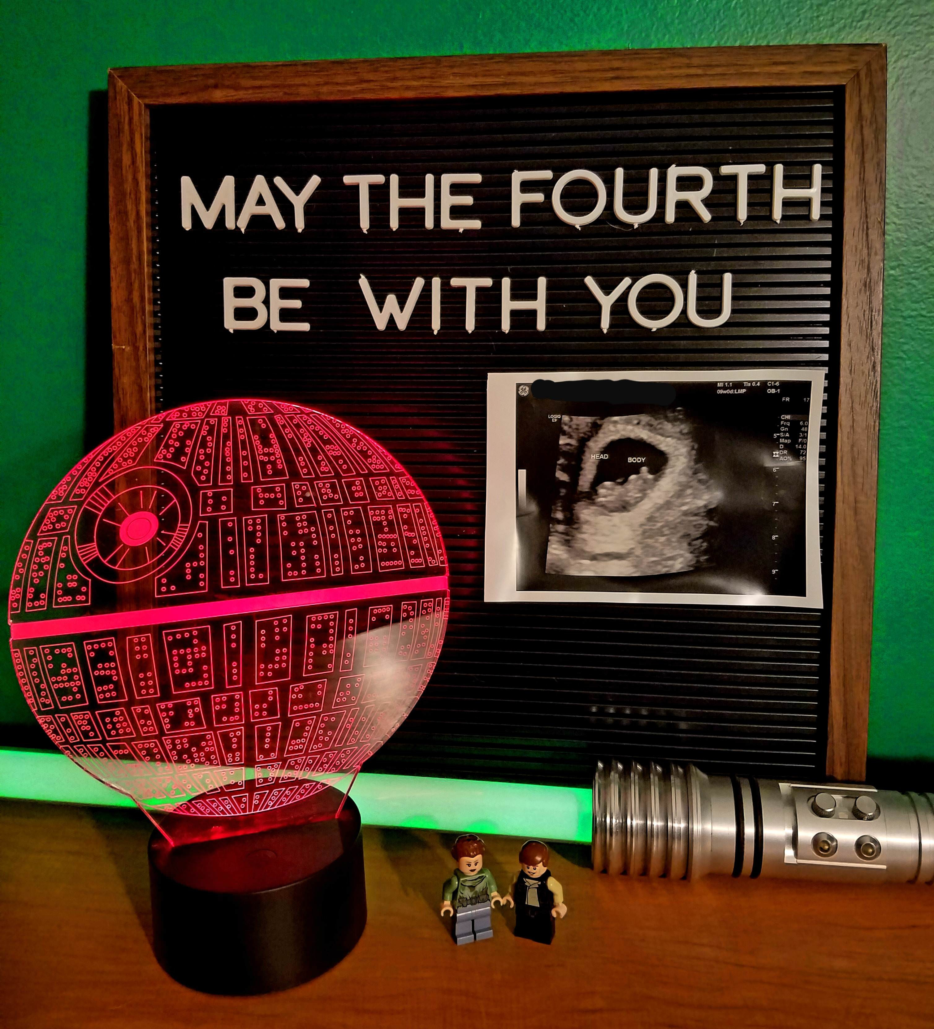 This is what happens when your first baby is due on May 4th