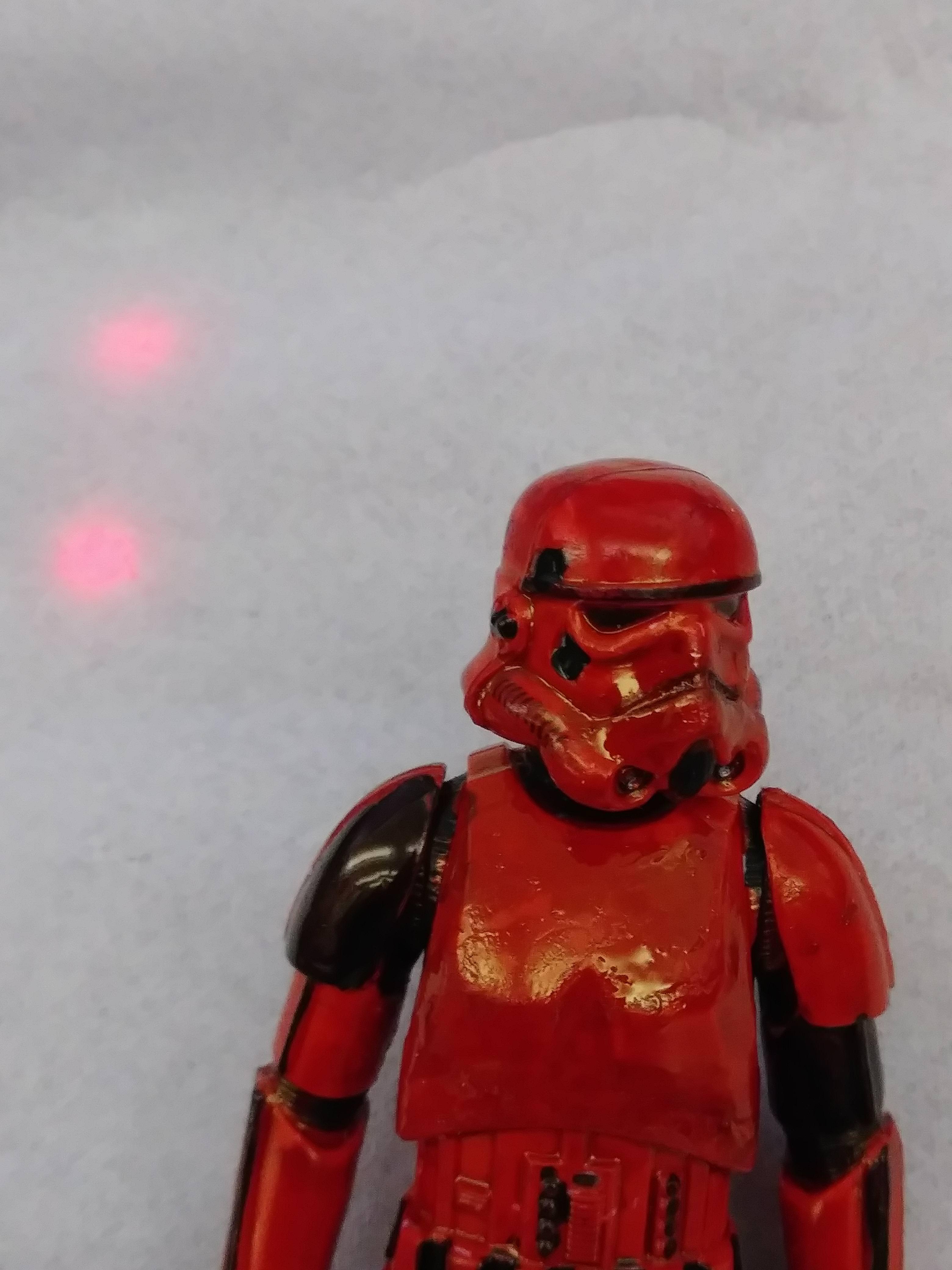 How do stormtroopers look in crimson?
