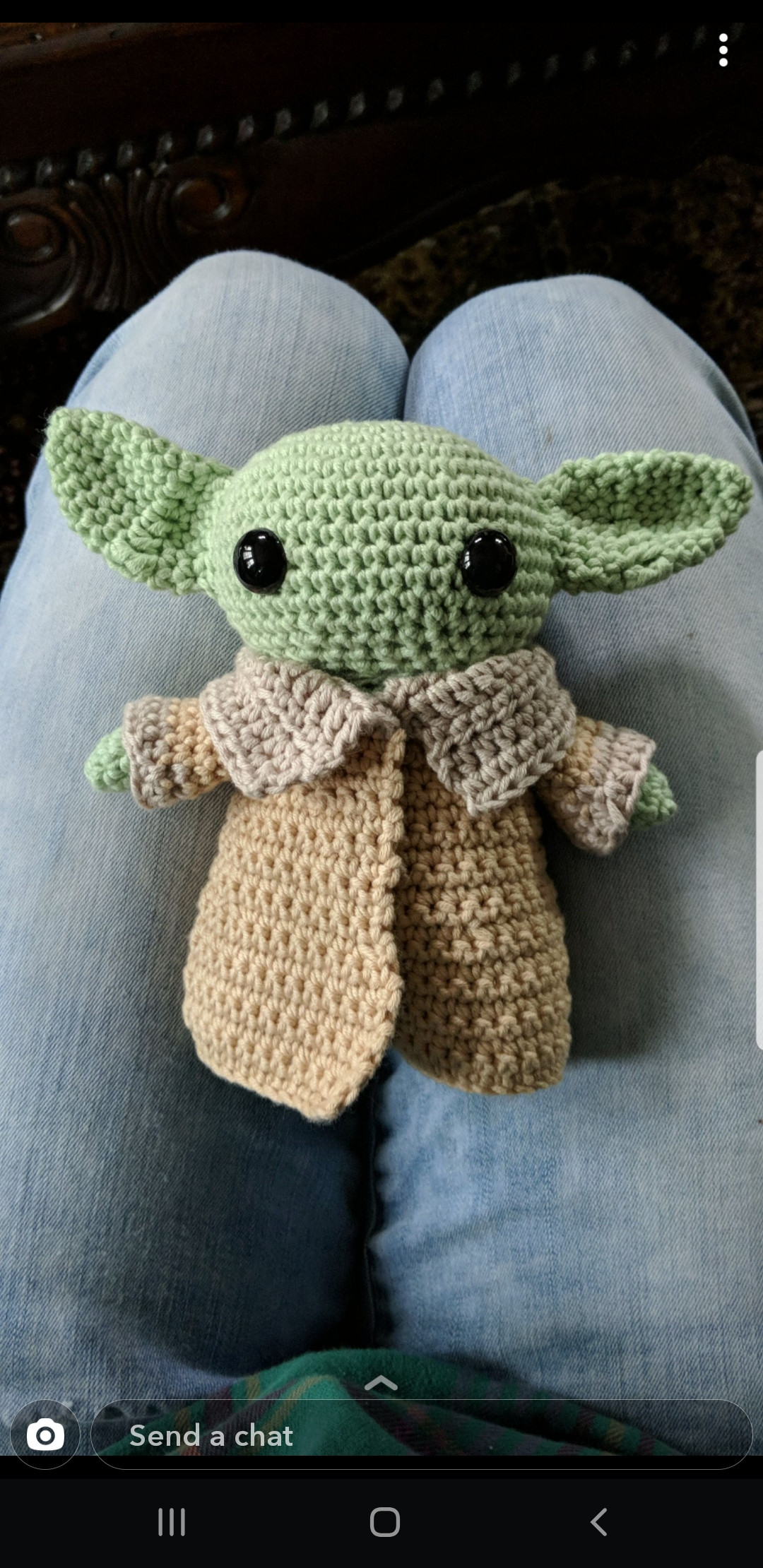 My Wife made me a Baby Yoda!