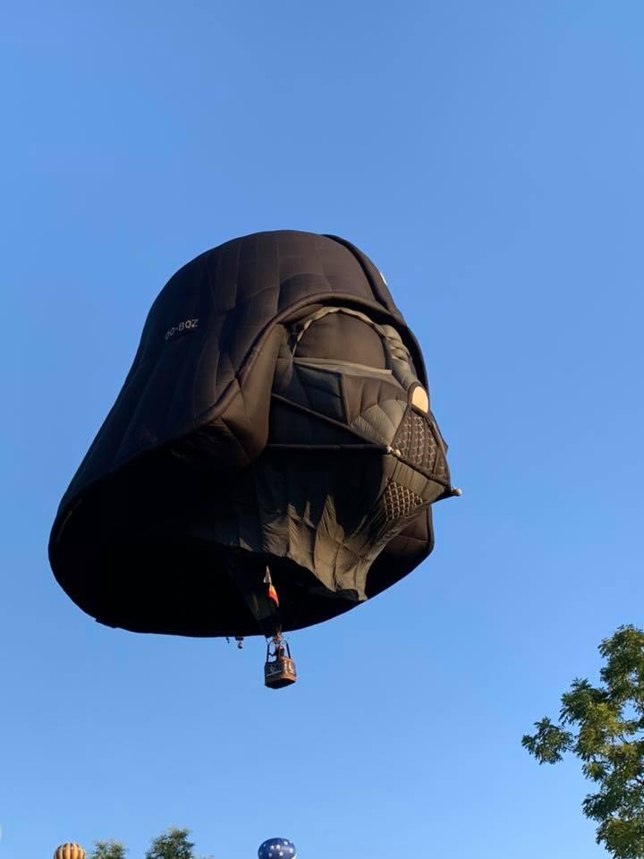 Dark Side Hot Air Balloon
