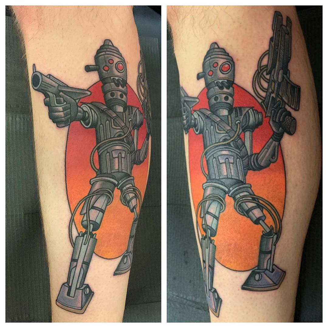 Got a new IG-88 tattoo