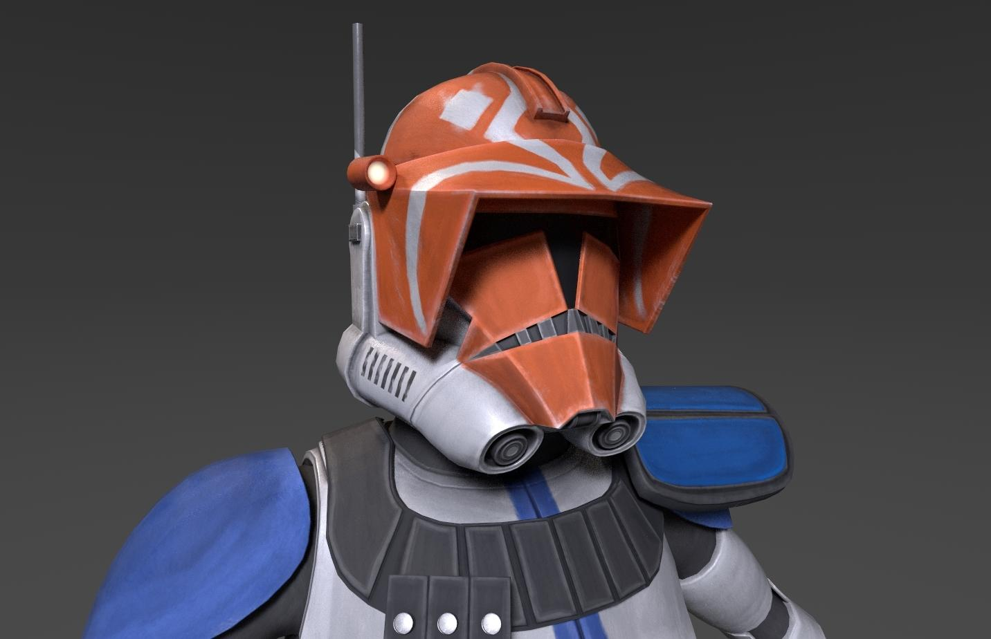 Creating something fun to celebrate the end of The Clone Wars :) Modelled and textured by me