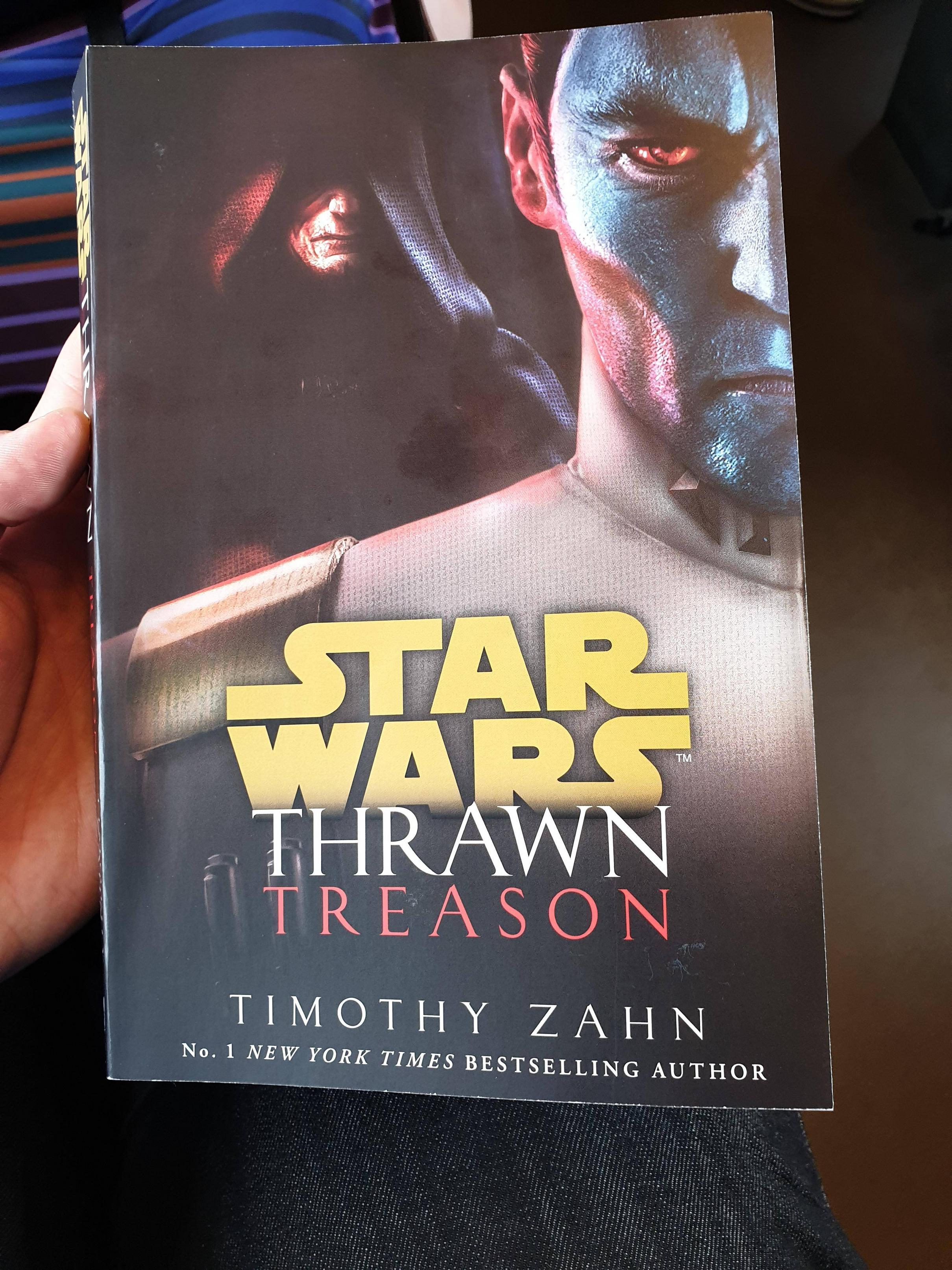 I didn\'t question why I found it in a book store a full week early. I just bought it.
