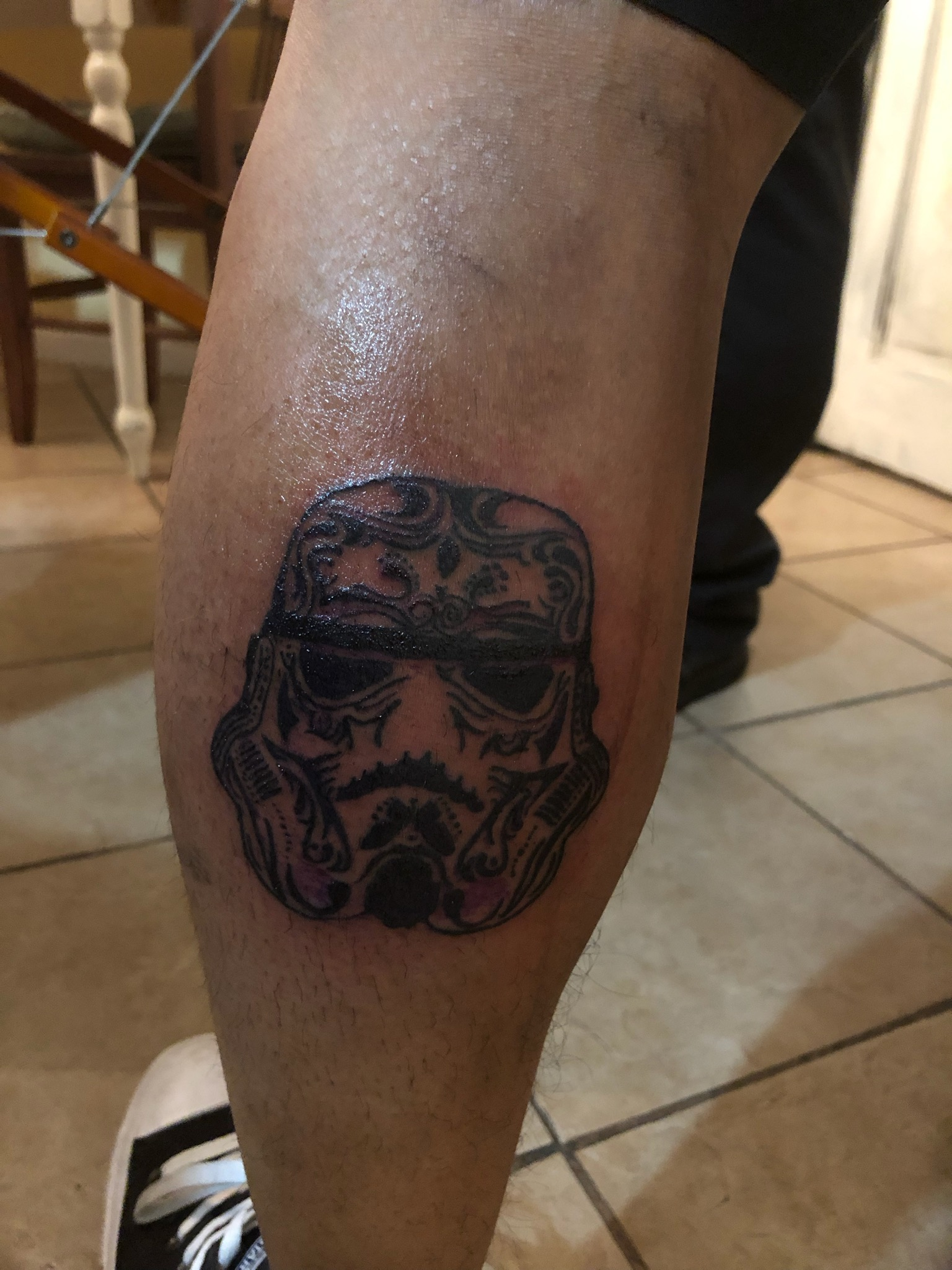 My Dia de los Muertos Storm Trooper