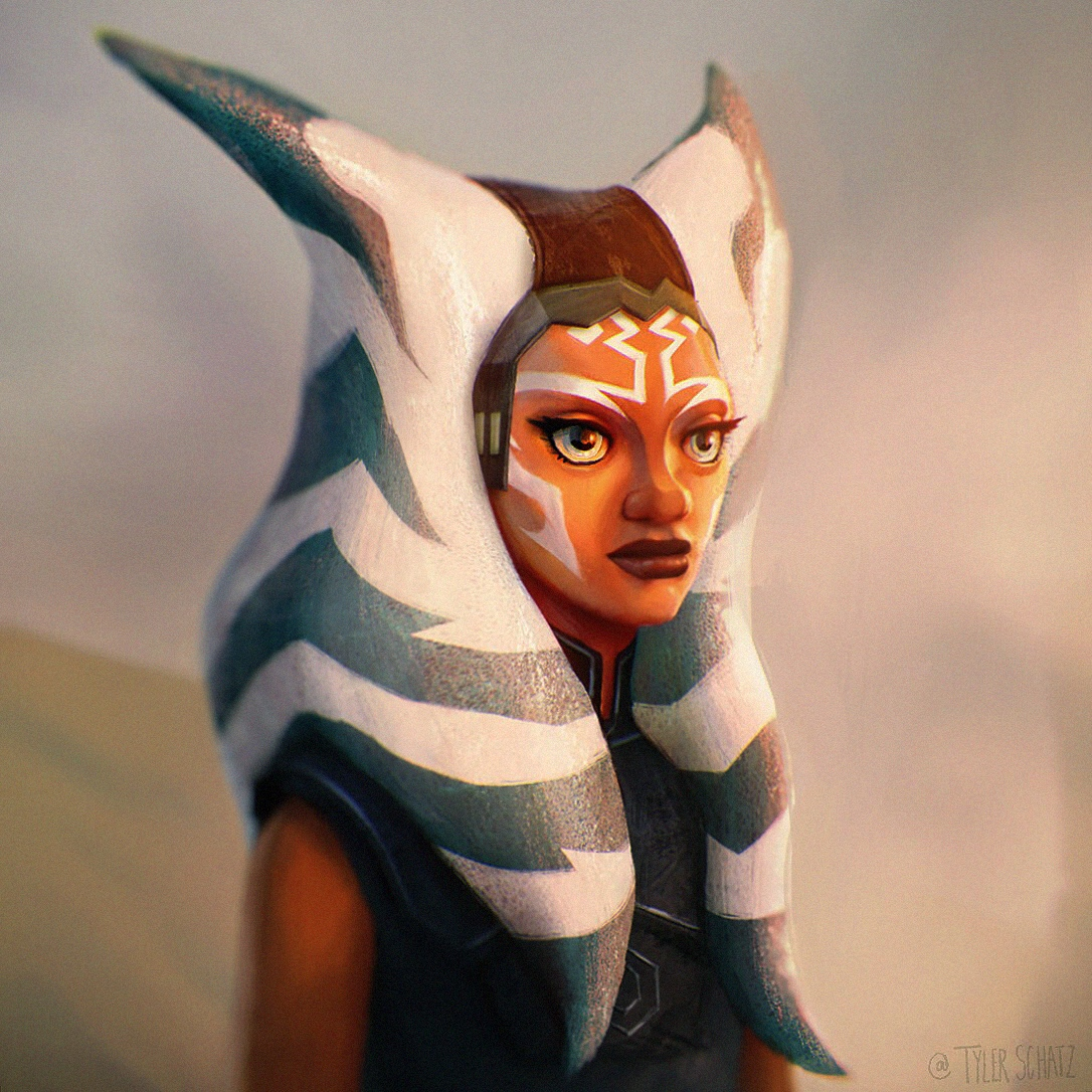 Happy Star Wars day, I tried painting Ashoka to celebrate the Clone Wars series finale