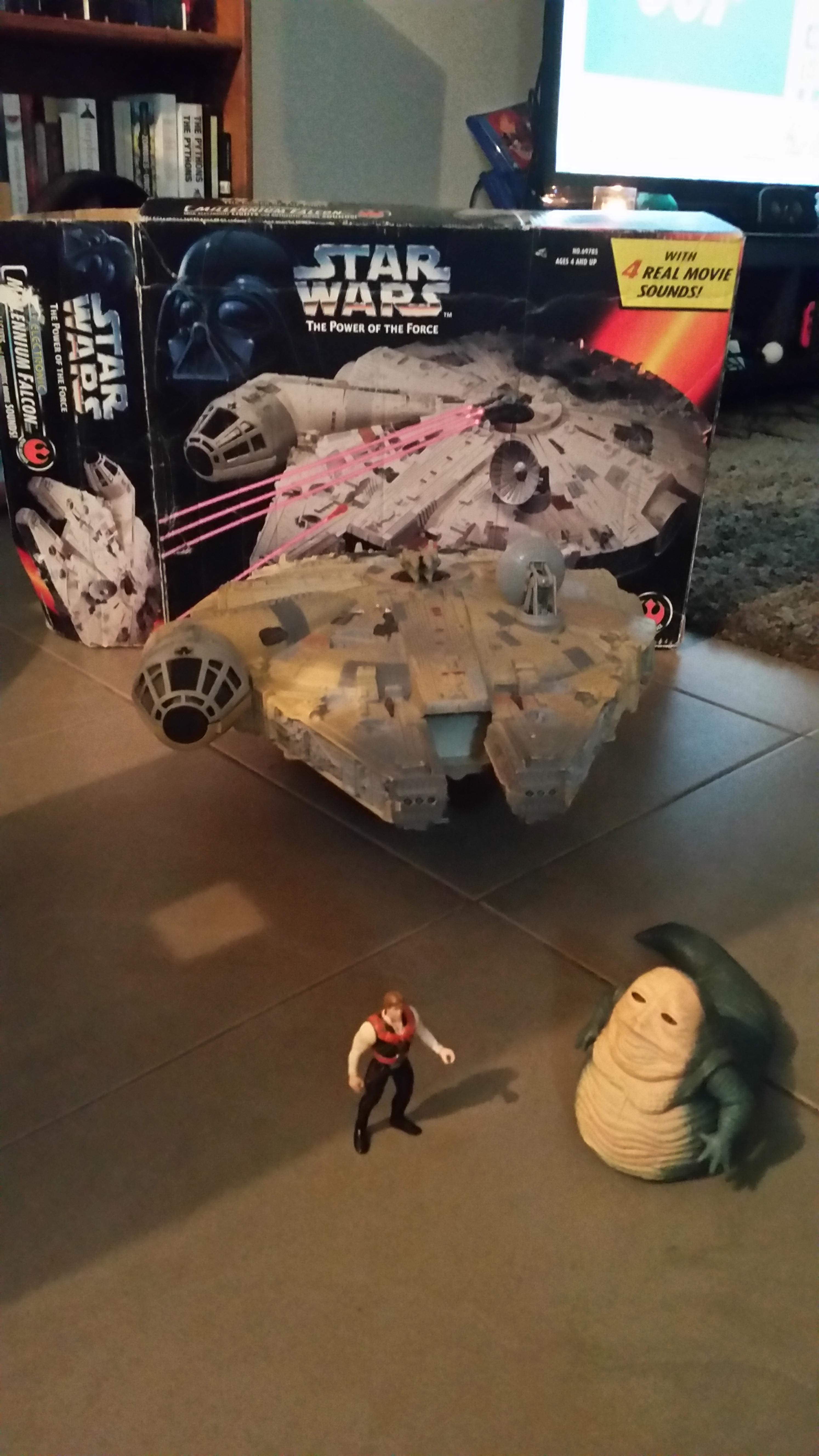 I have been returned my original Millennium Falcon toy in time for my own child.