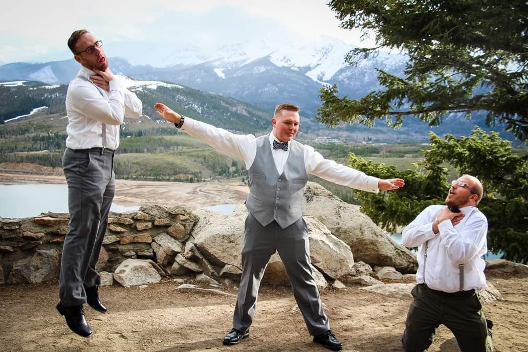 Since we are doing wedding photos, here is mine from back in May.