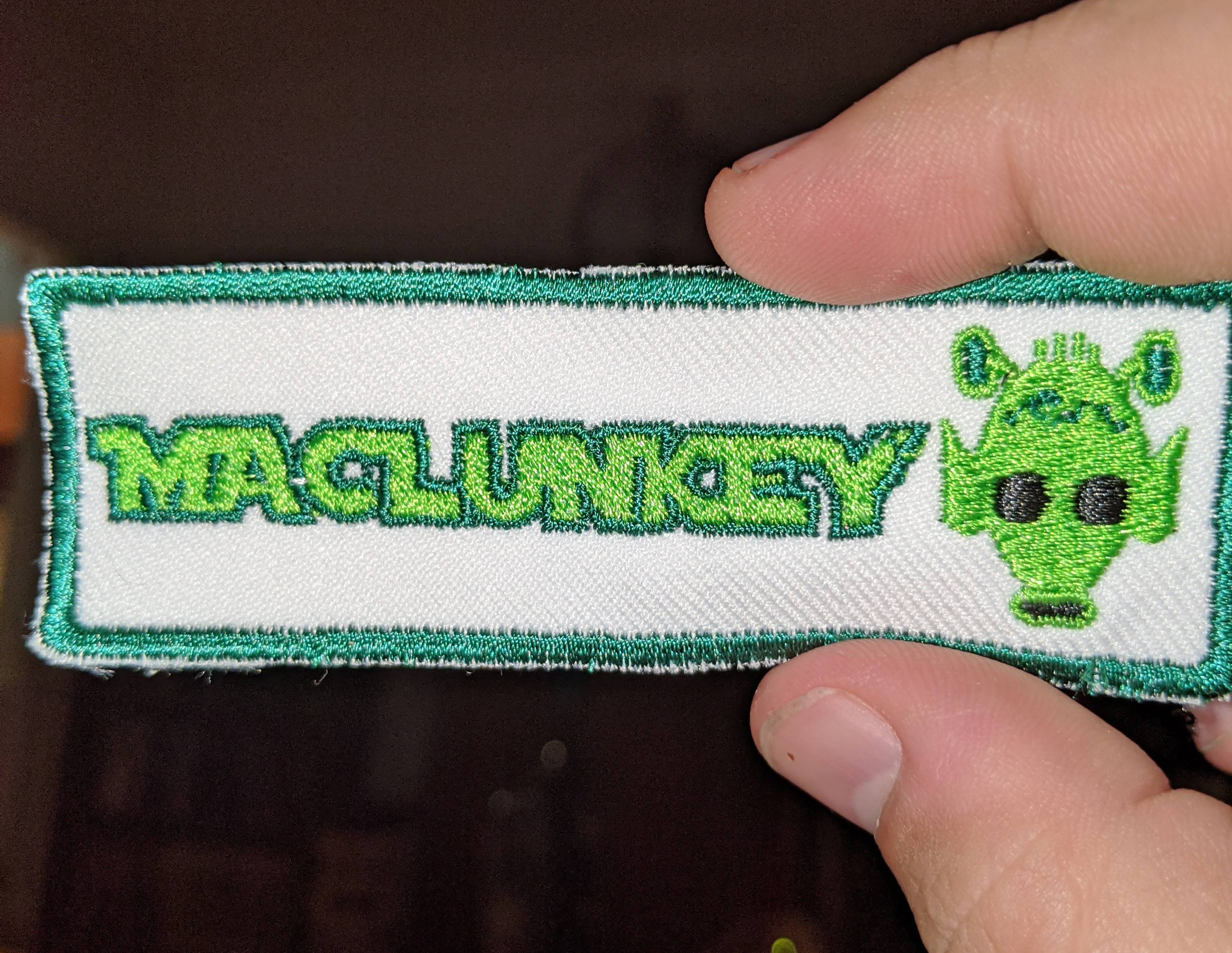 My wife just handed me this. So I immediately shot her with my blaster. #Maclunkey