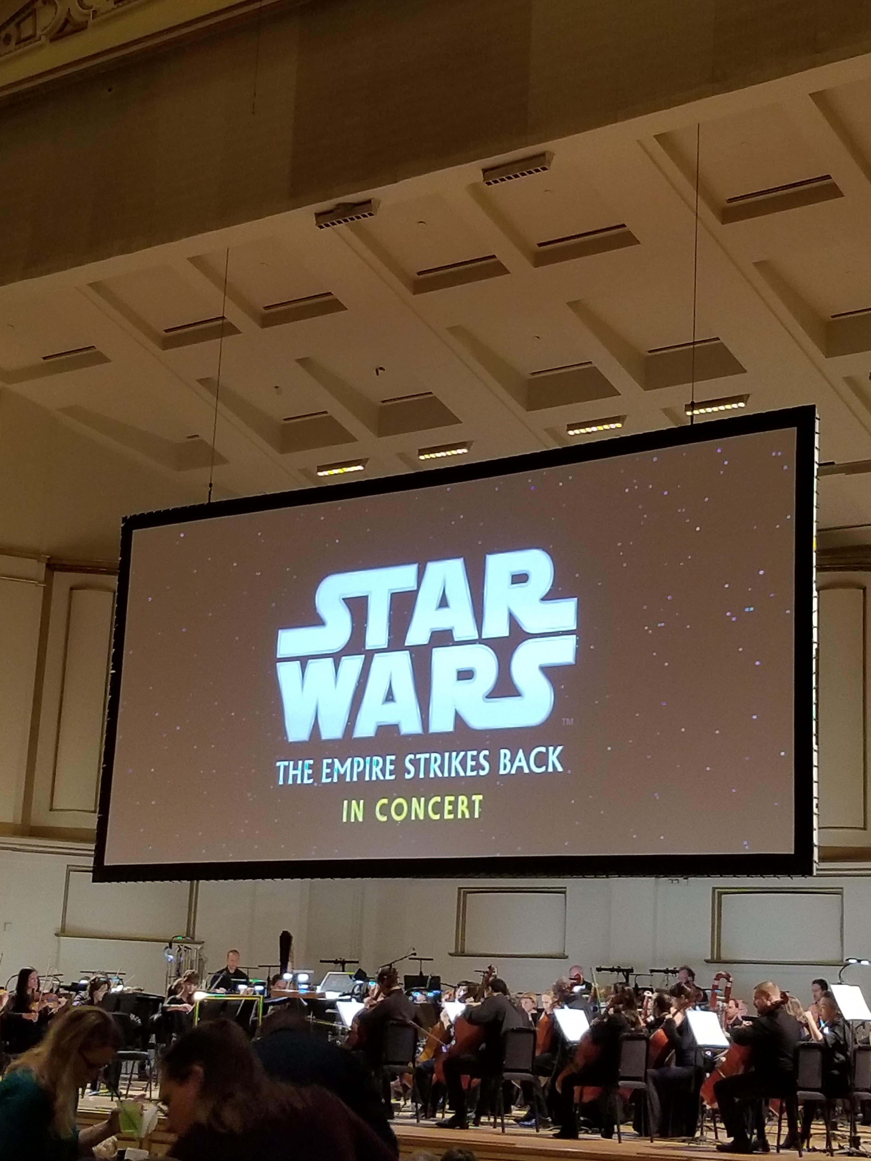Had the chance to experience the score live tonight thanks to the St Louis Symphony