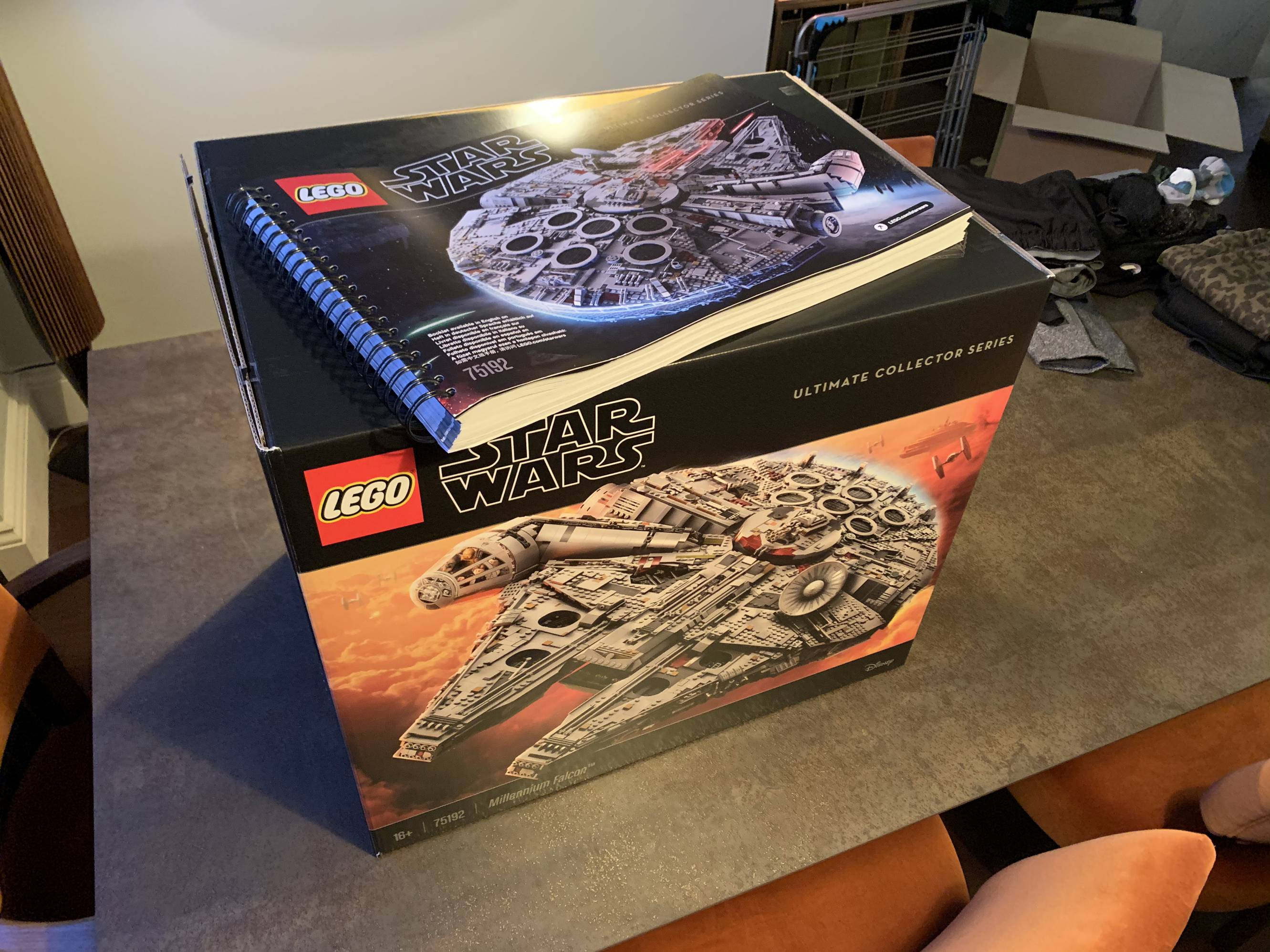 Very excited to build this with my brother tomorrow evening....