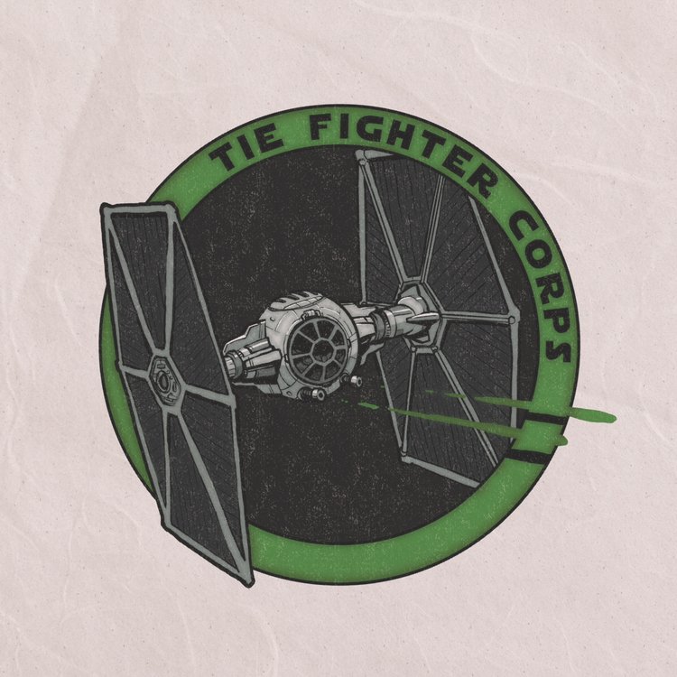 I made a design for the TIE fighter corps