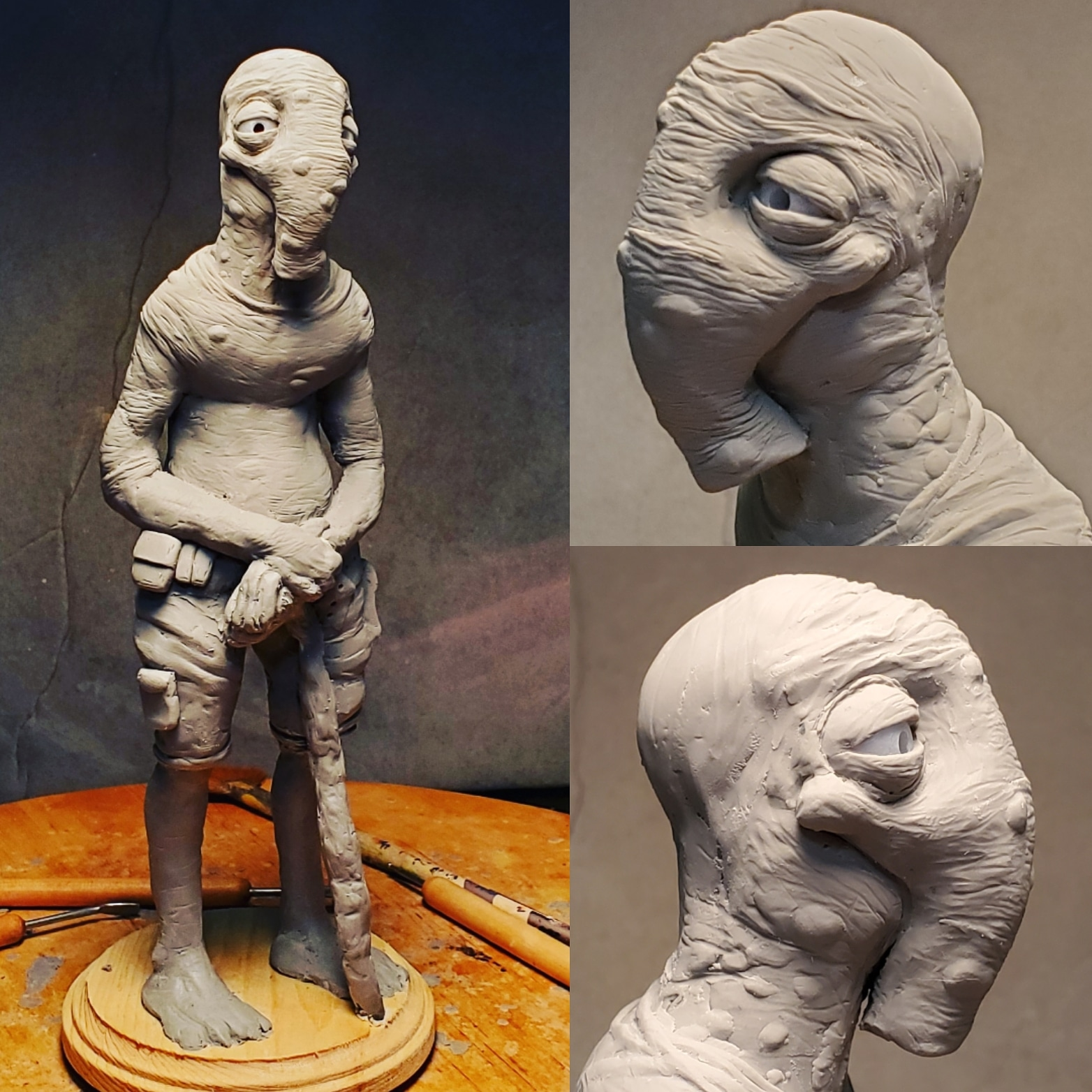 New creature sculpt I\'m working on.