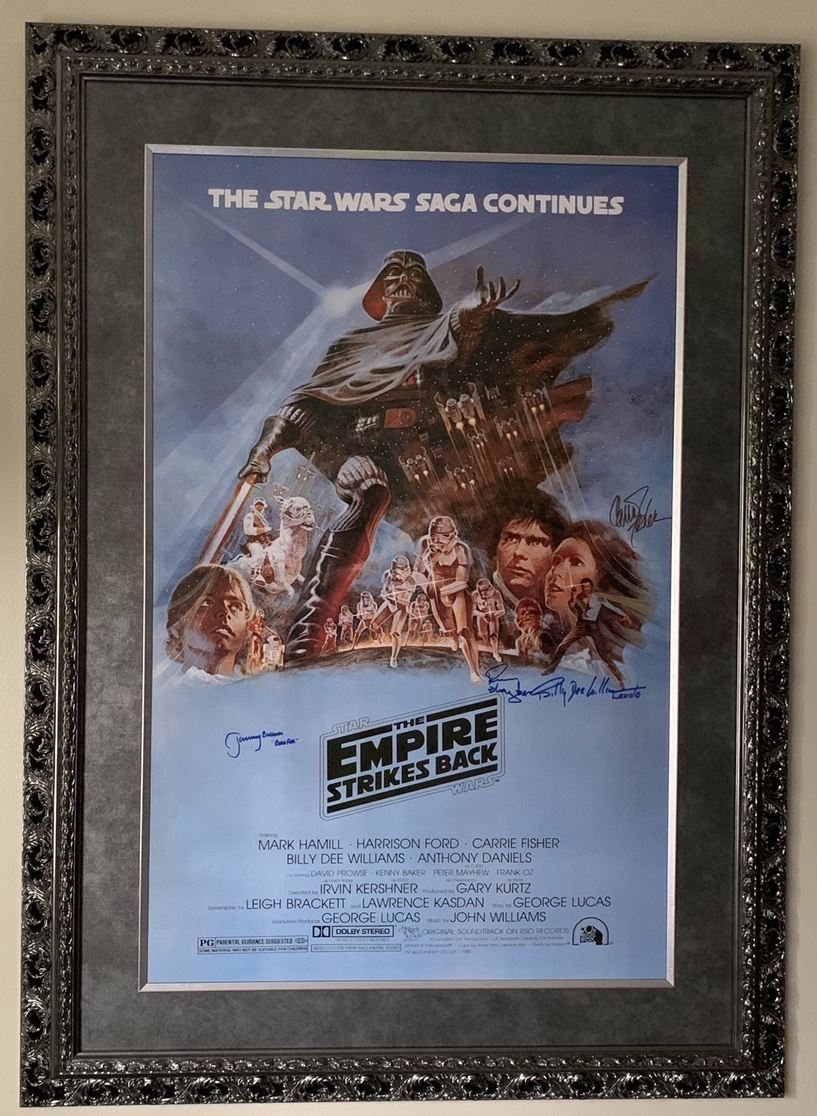 I dont have many visitors that see this, so I thought I\'d share it here. My ESB poster I was fortunate enough to have si...
