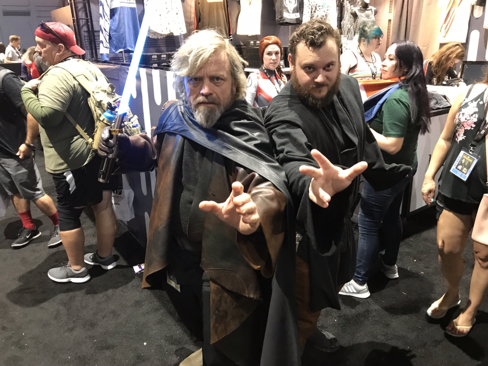 I found the best Luke cosplay at comic con