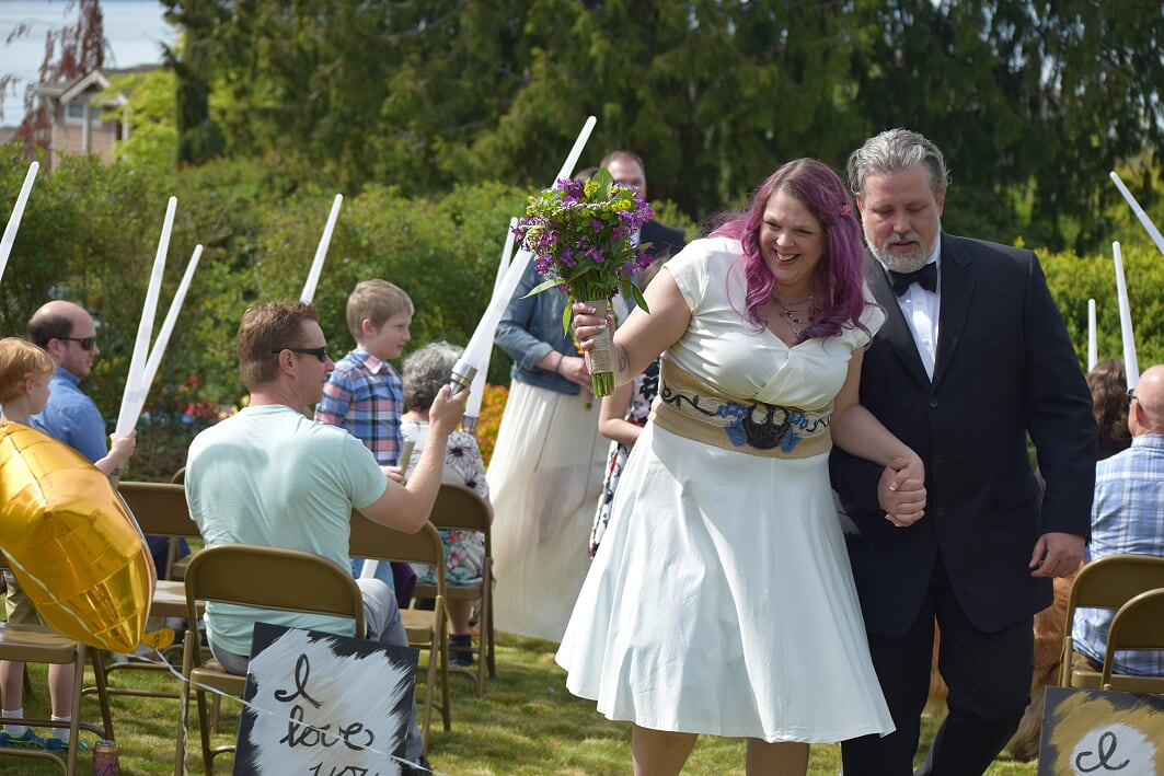 Couldn\'t think of a better day to get hitched