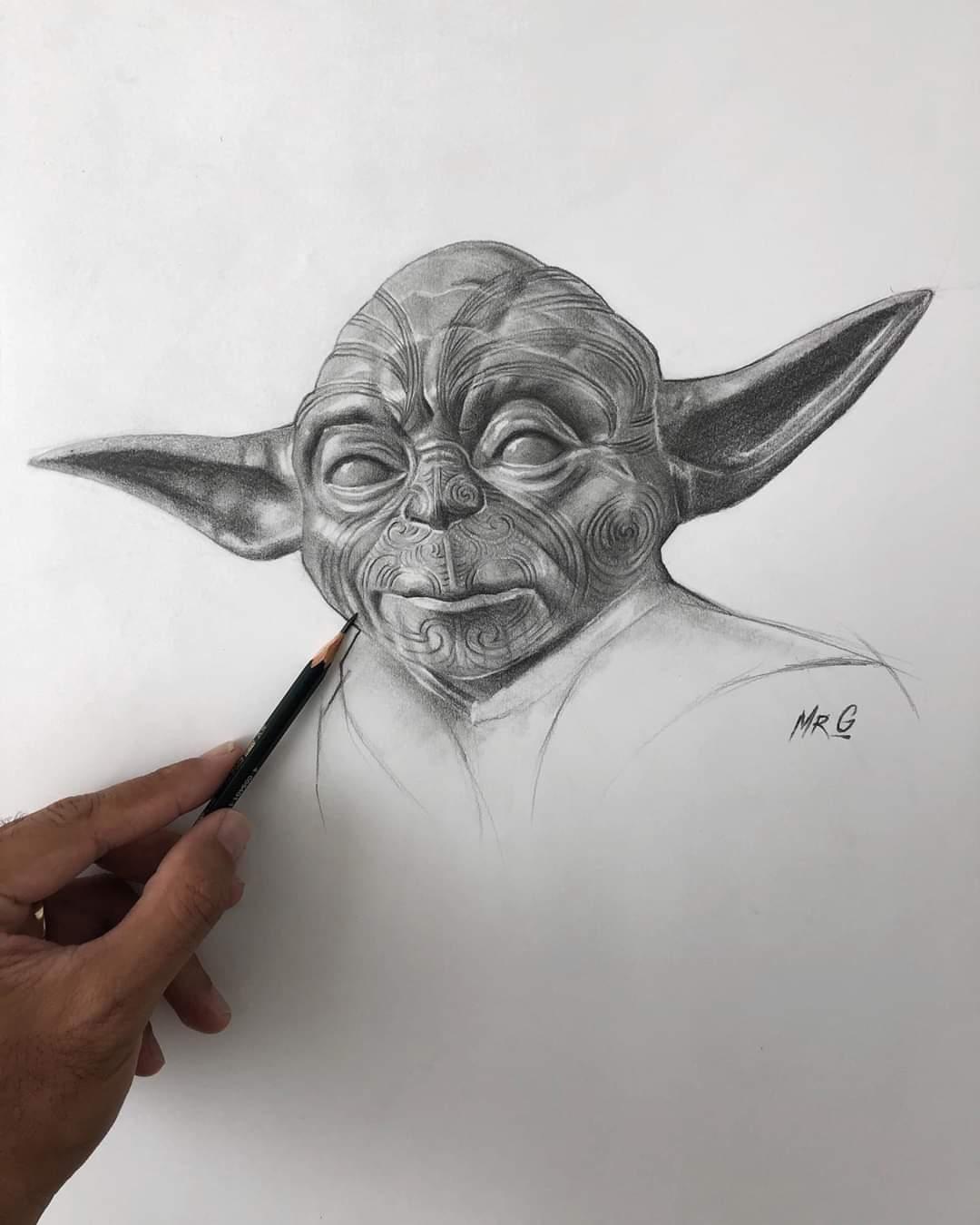 Maori Yoda - By Mr G