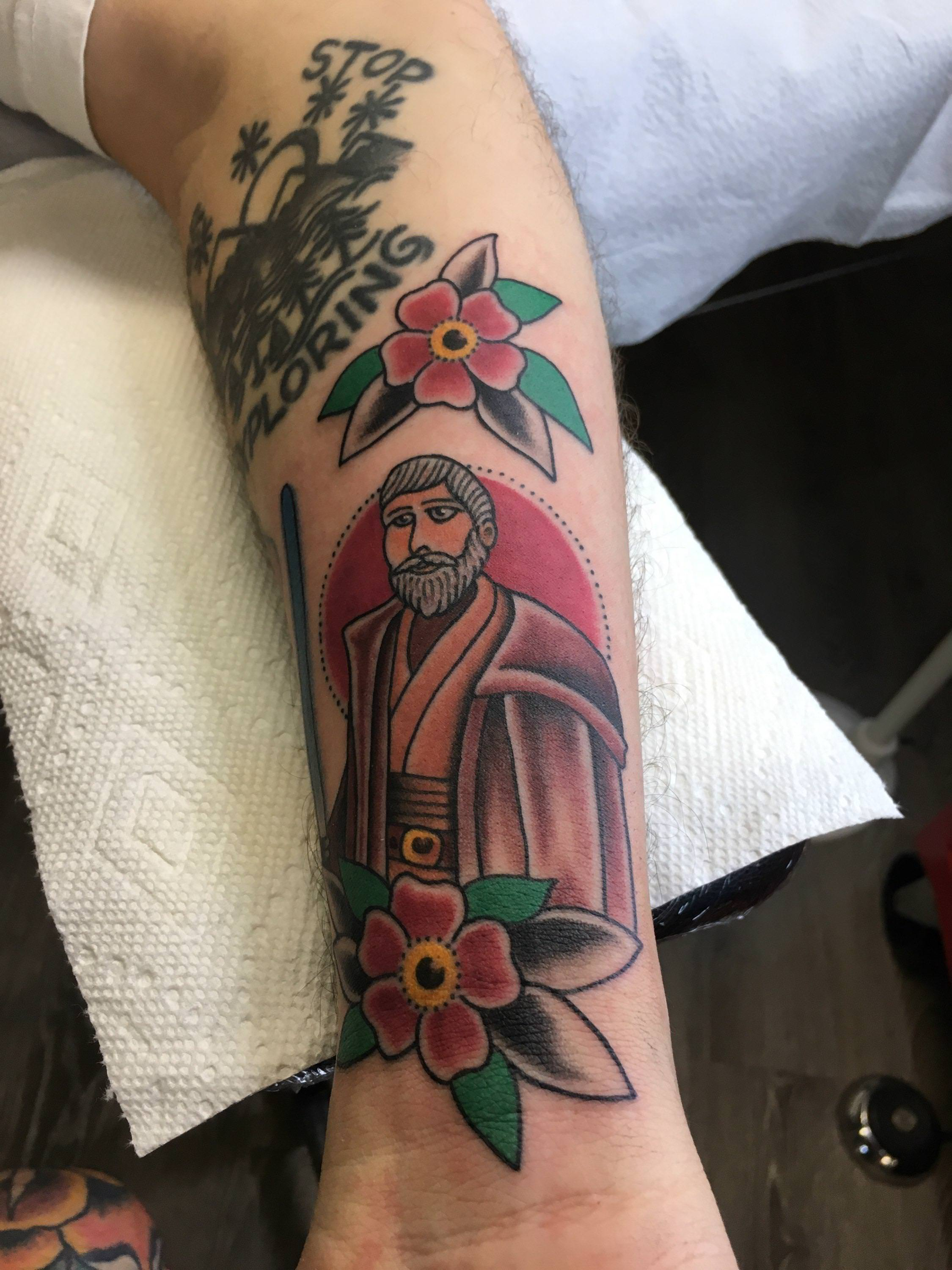 An elegant tattoo for a more civilized age.