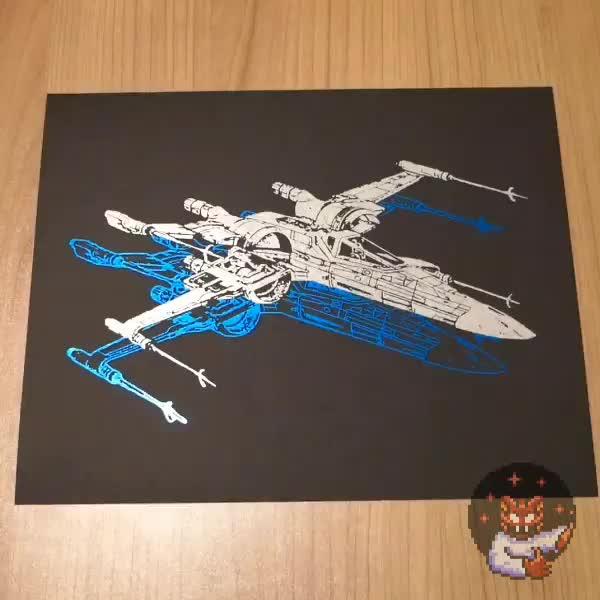 [OC] X-Wing Foil Peel