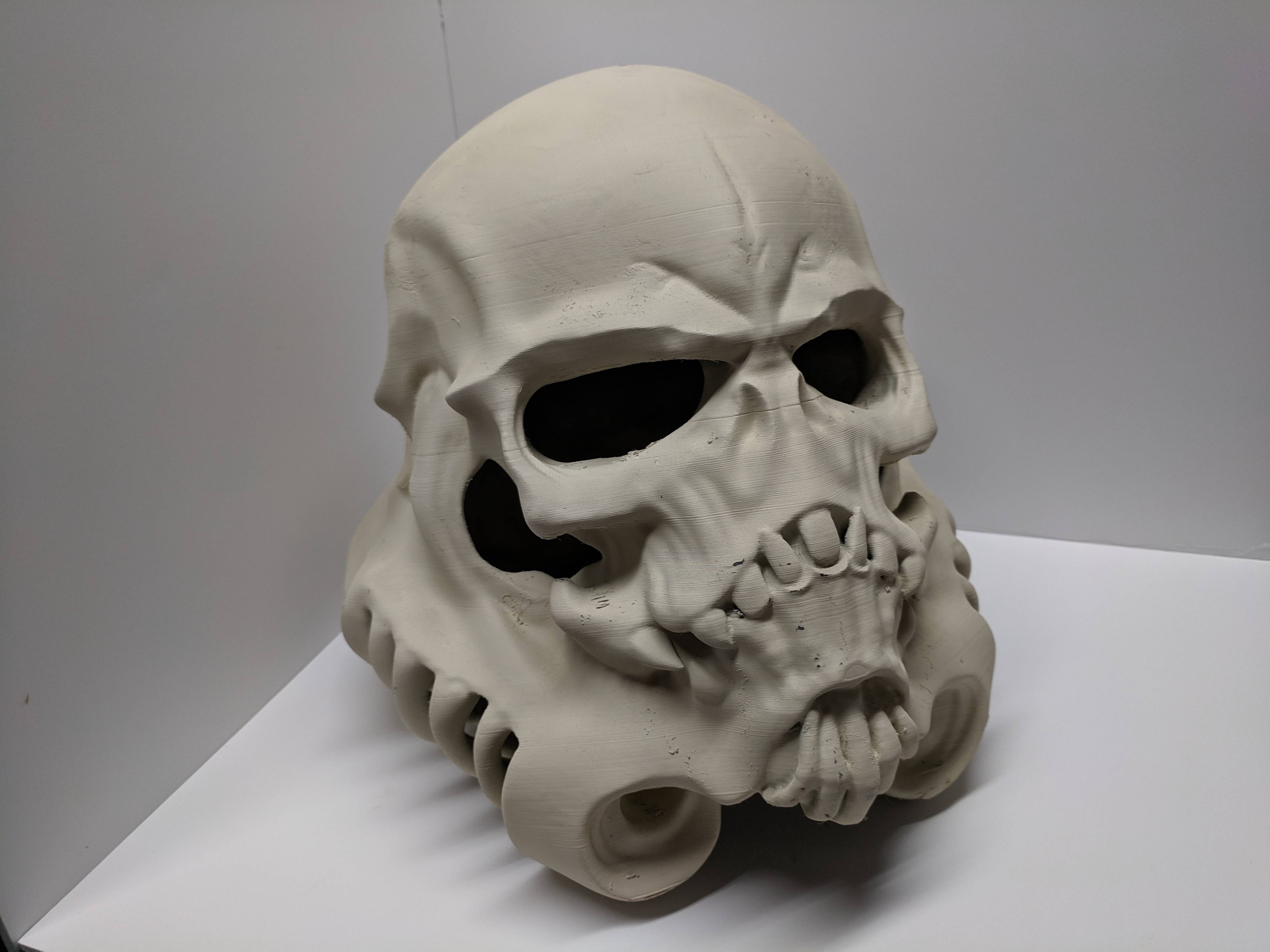 Fan creations: 3d printed this skull Trooper