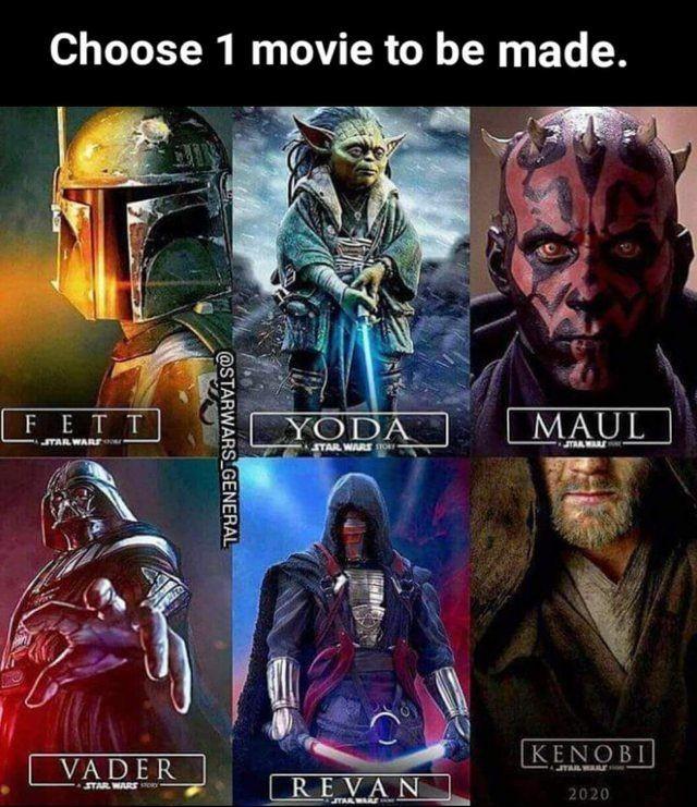 I would choose yoda
