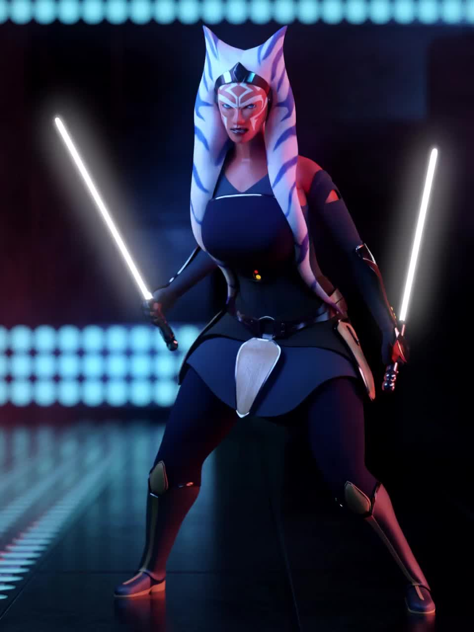 I made an Ahsoka idle animation