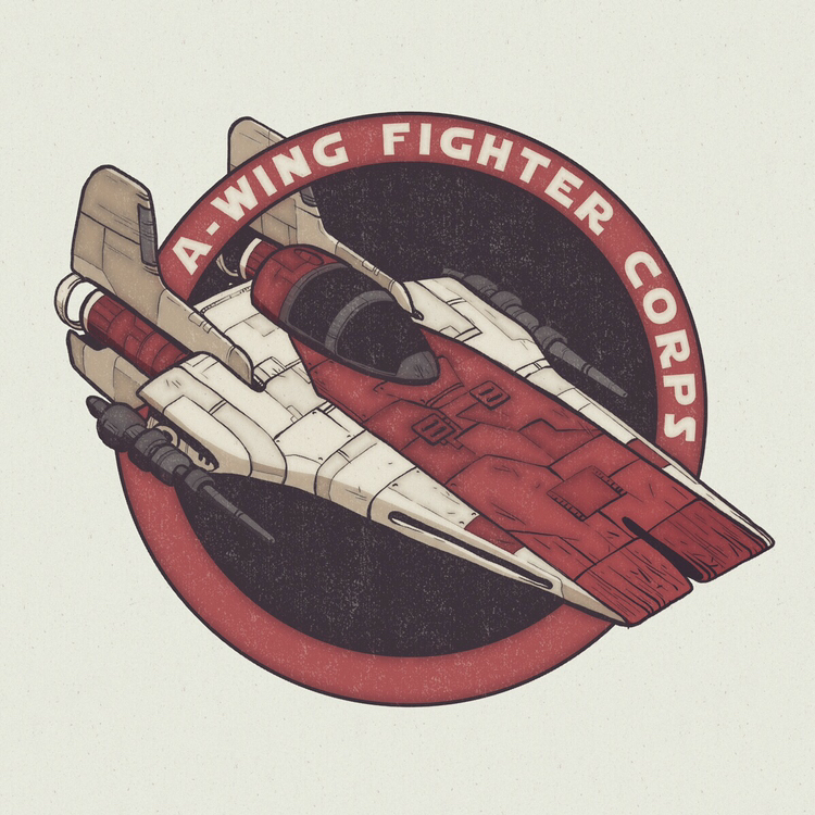 I made a design for the A-Wing Fighter Corps