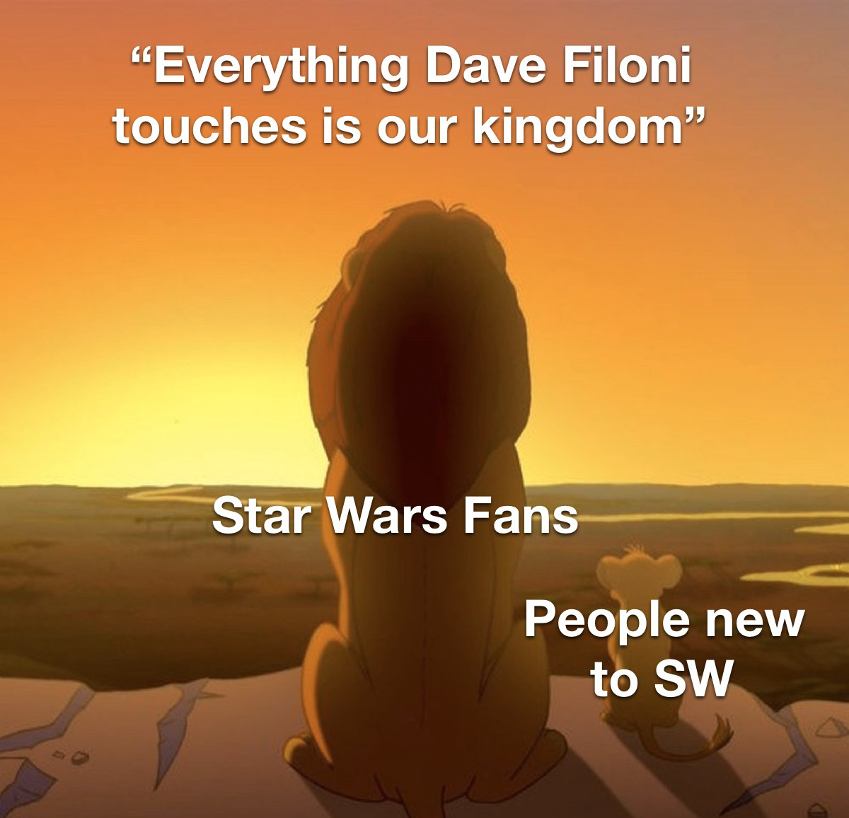 Dave Filoni needs to be in charge of Star Wars