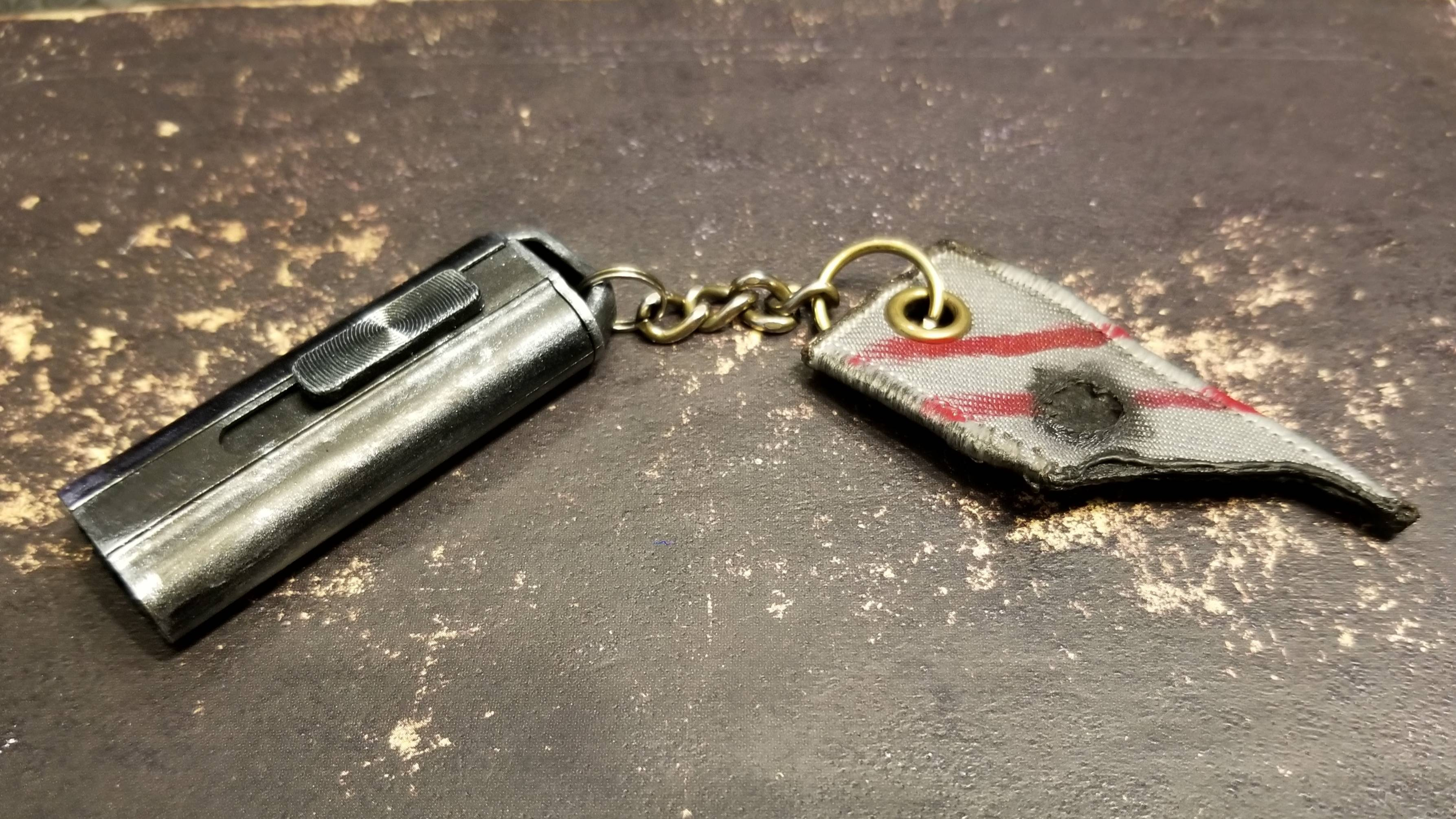 I painted, weathered and detailed a USB stick with a very \'Mandalorian\' feel.