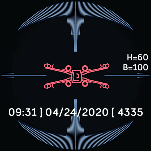 Tie Fighter Targeting Computer Clockface Fitbit