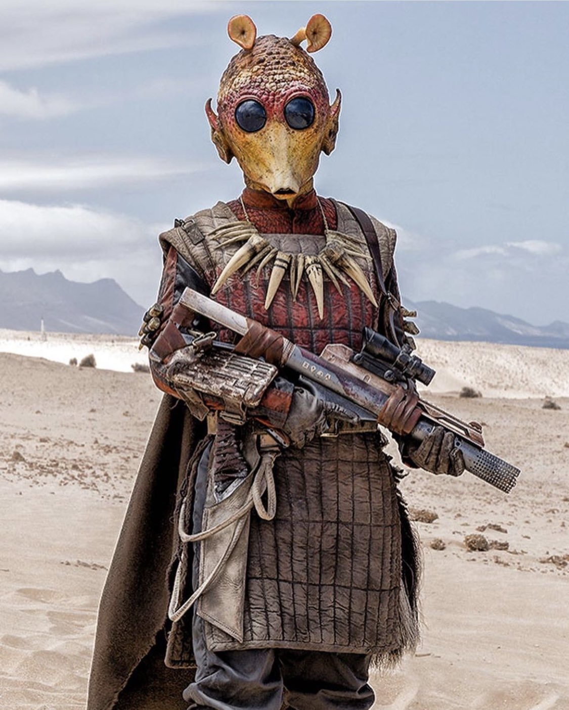 Solo did a great job of blending new species with OT era ones. I hope we see some more classic species in the Sequel Tri...
