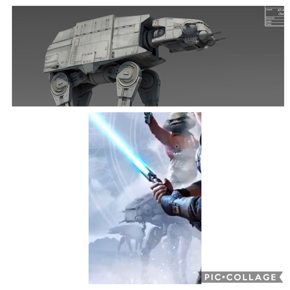 Jedi Fallen Order has the Rebels AT-AT. This kind of Star Wars continuity is what I live for.