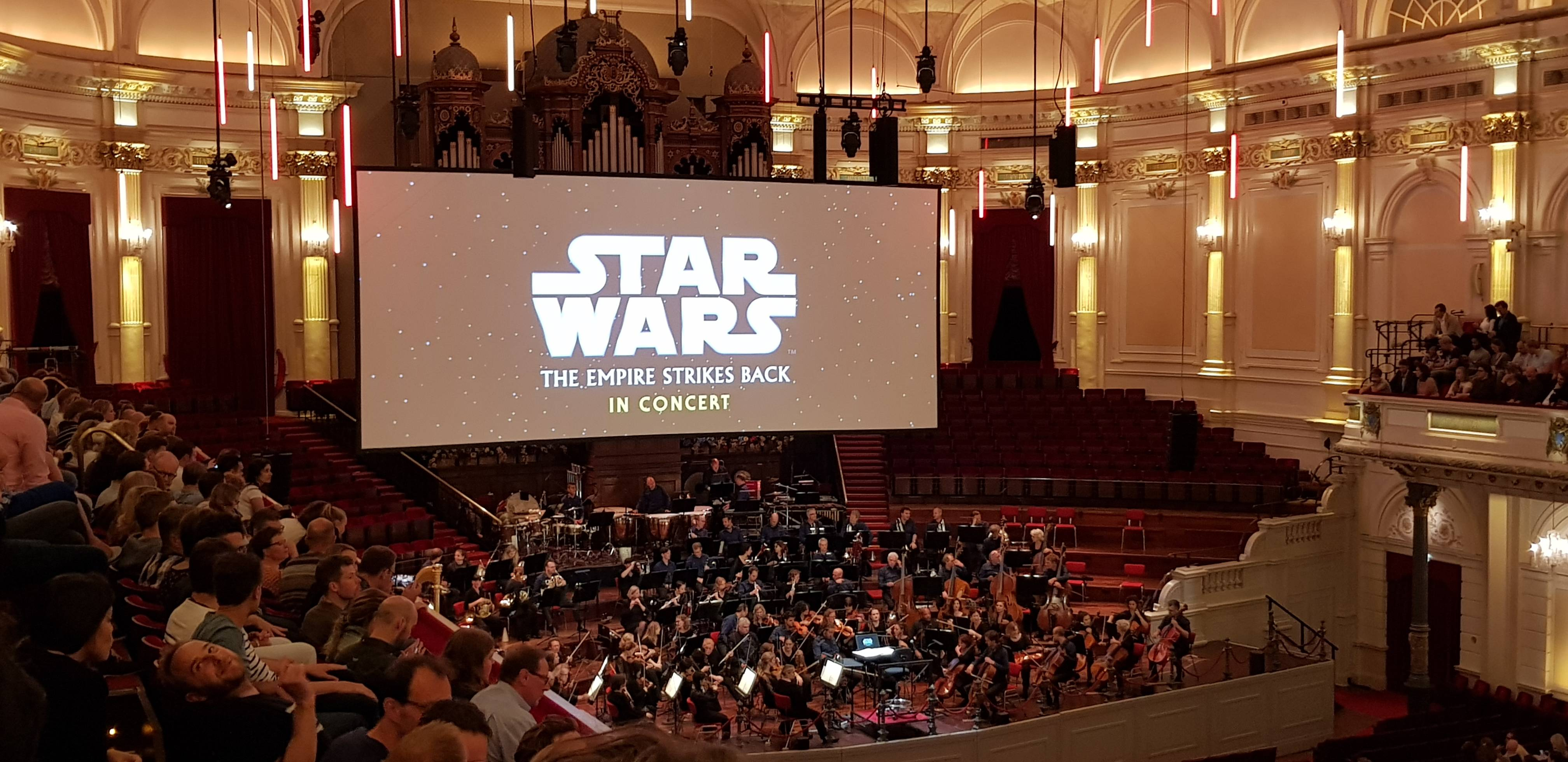 Watched Empire Strikes Back with a live orchestra yesterday!