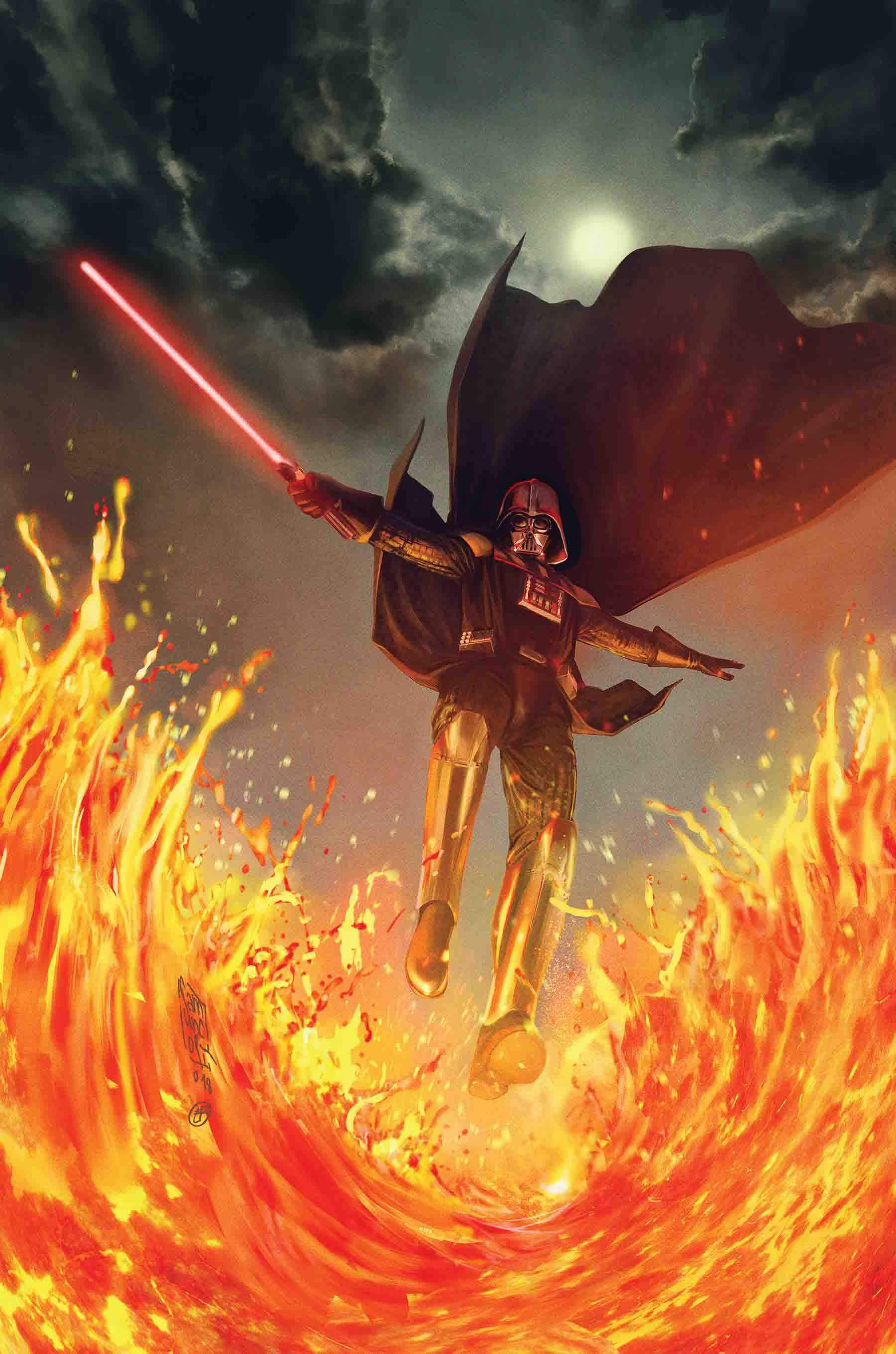 Darth Vader looks badass in this