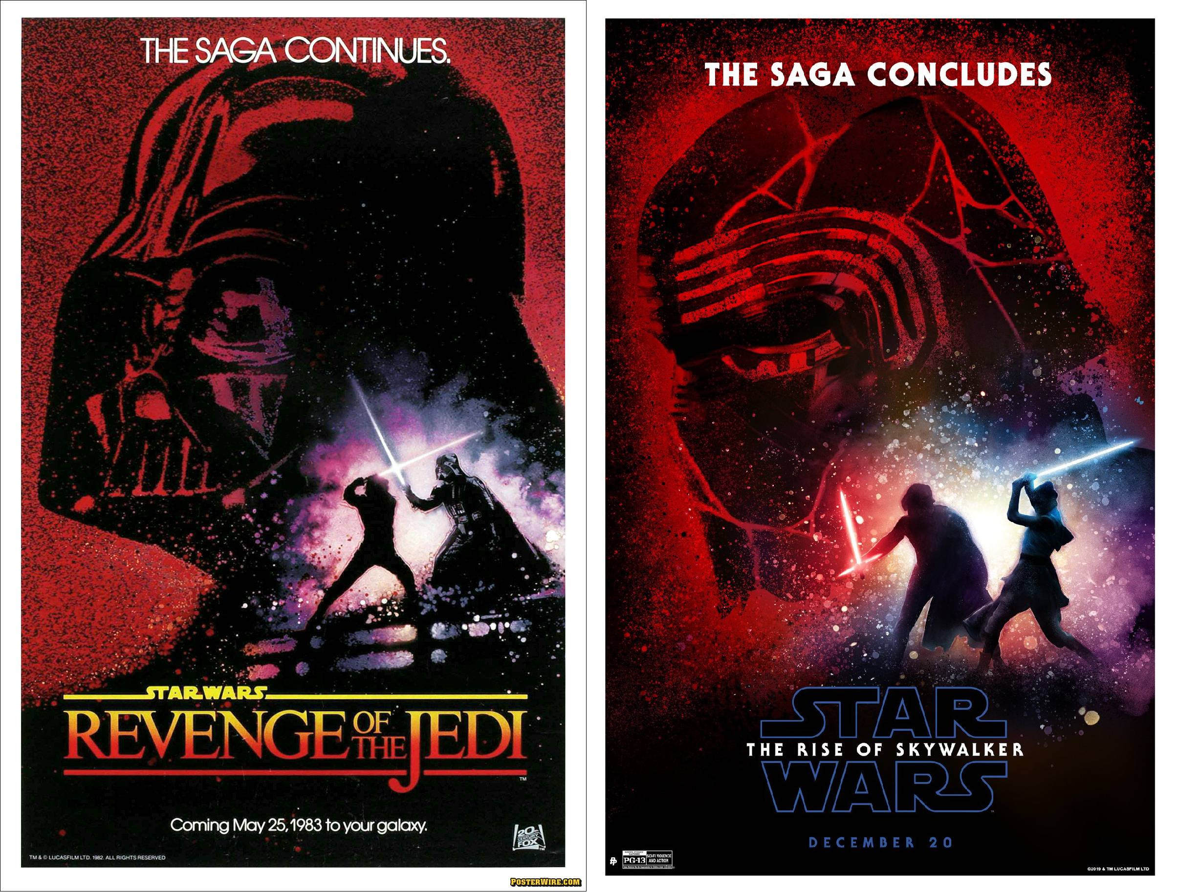 The Lasts of the Original and Sequel Trilogies