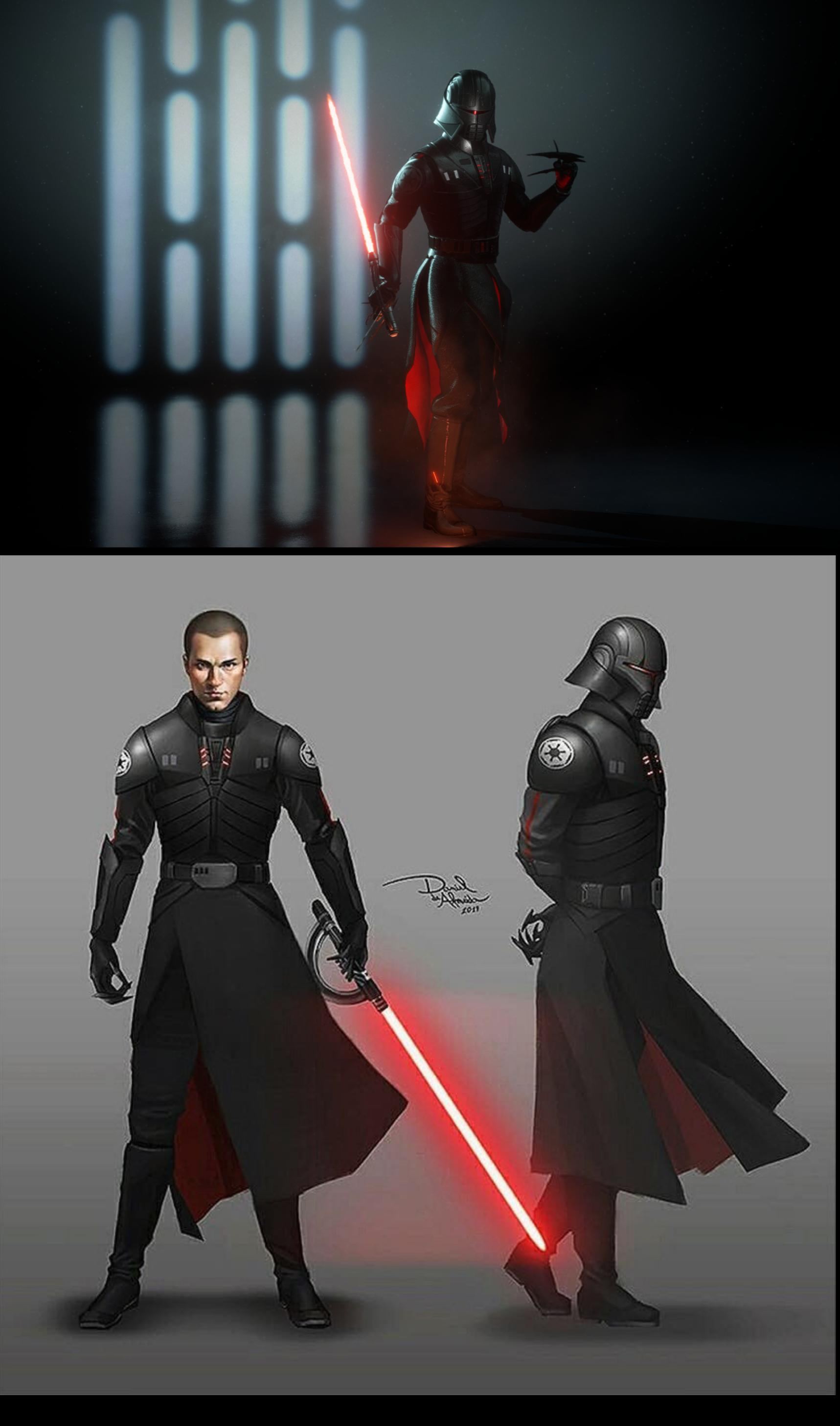 Inquisitor starkiller in battlefront