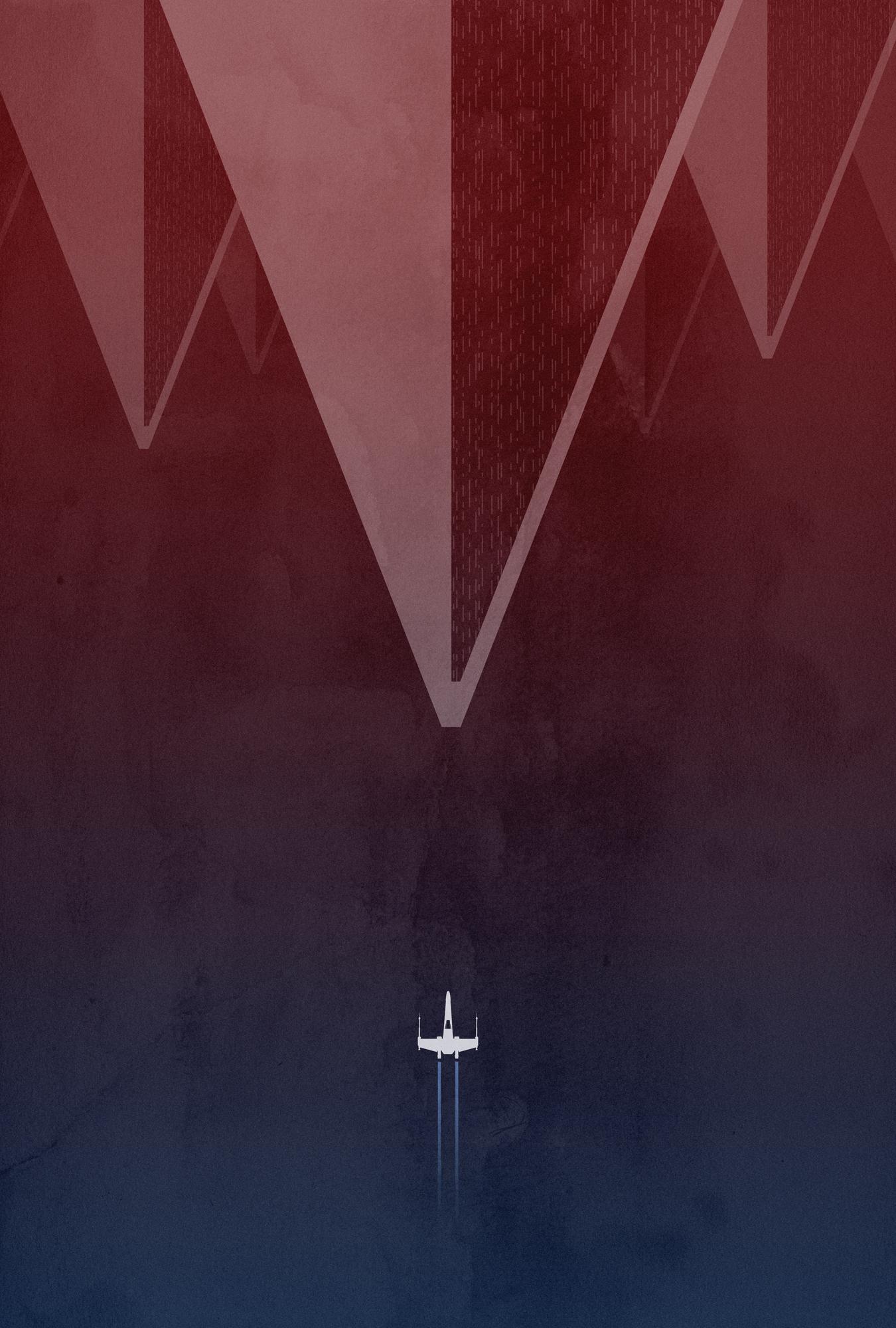 A minimalist TROS poster