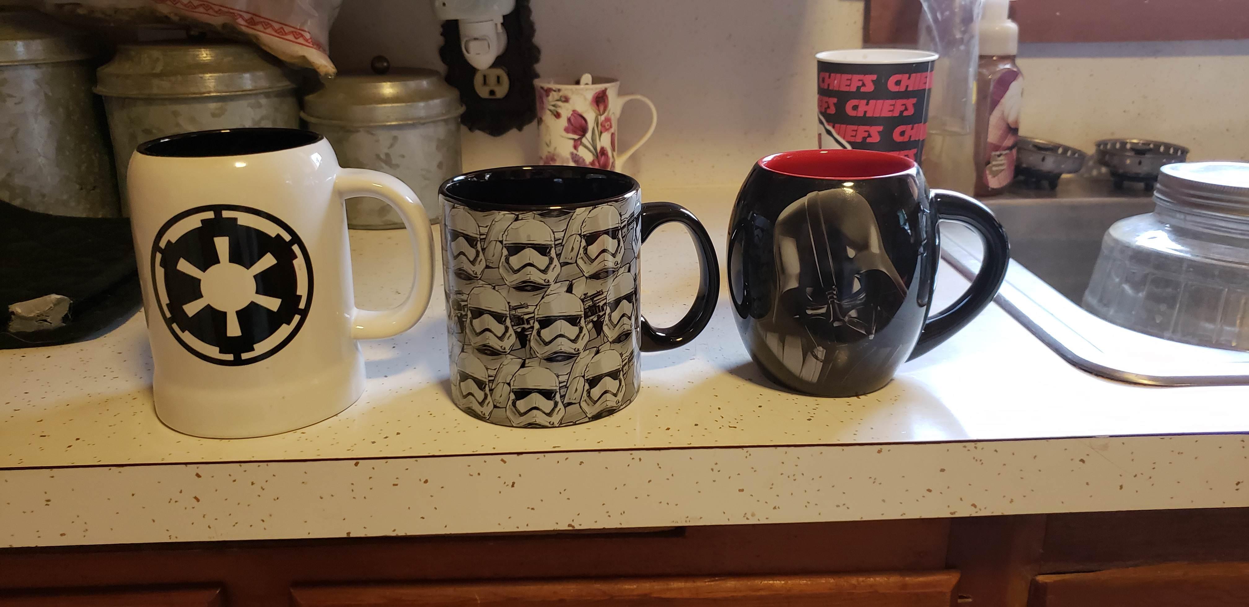 I like my coffee the same way I like my Force