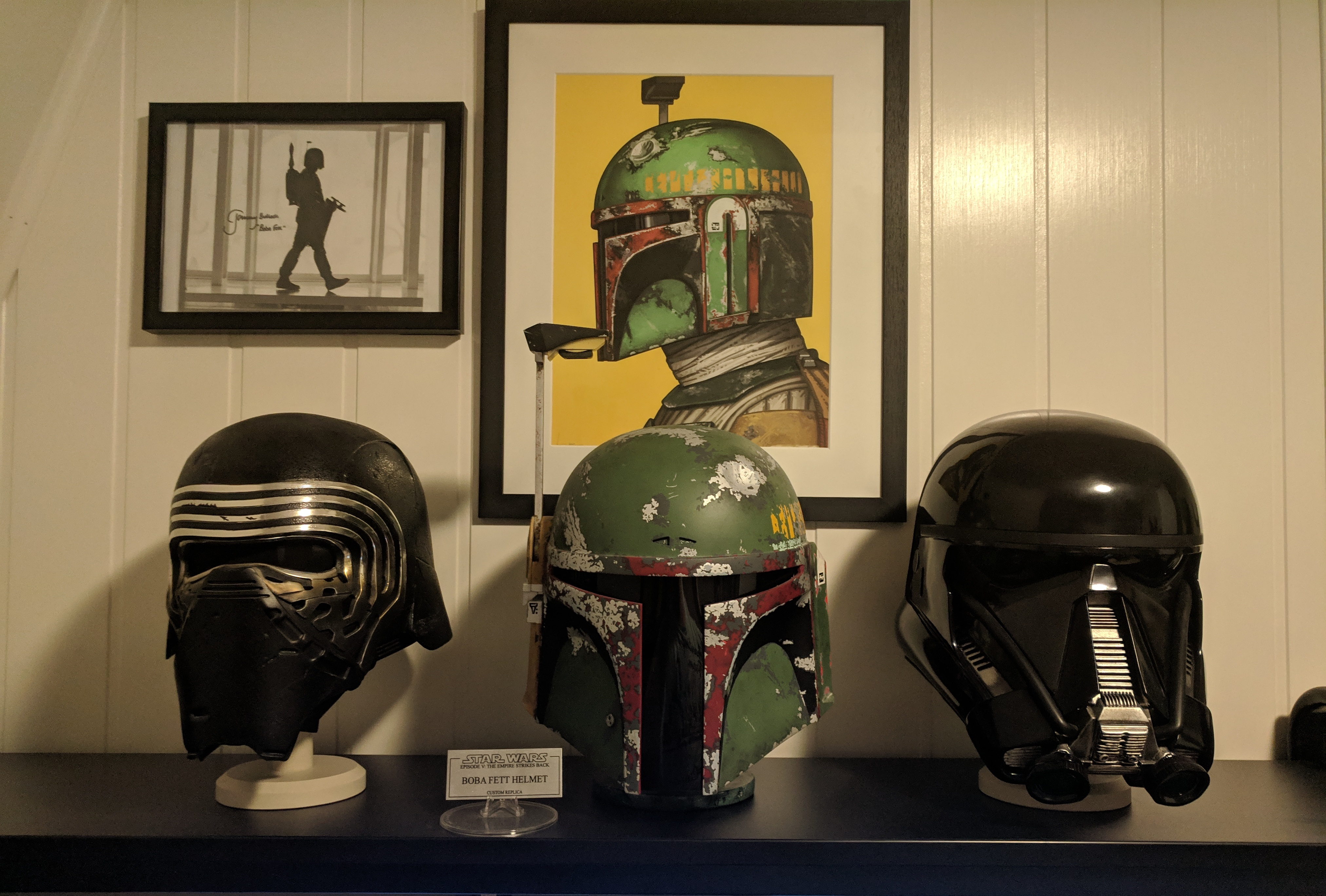 My little Star Wars bucket display