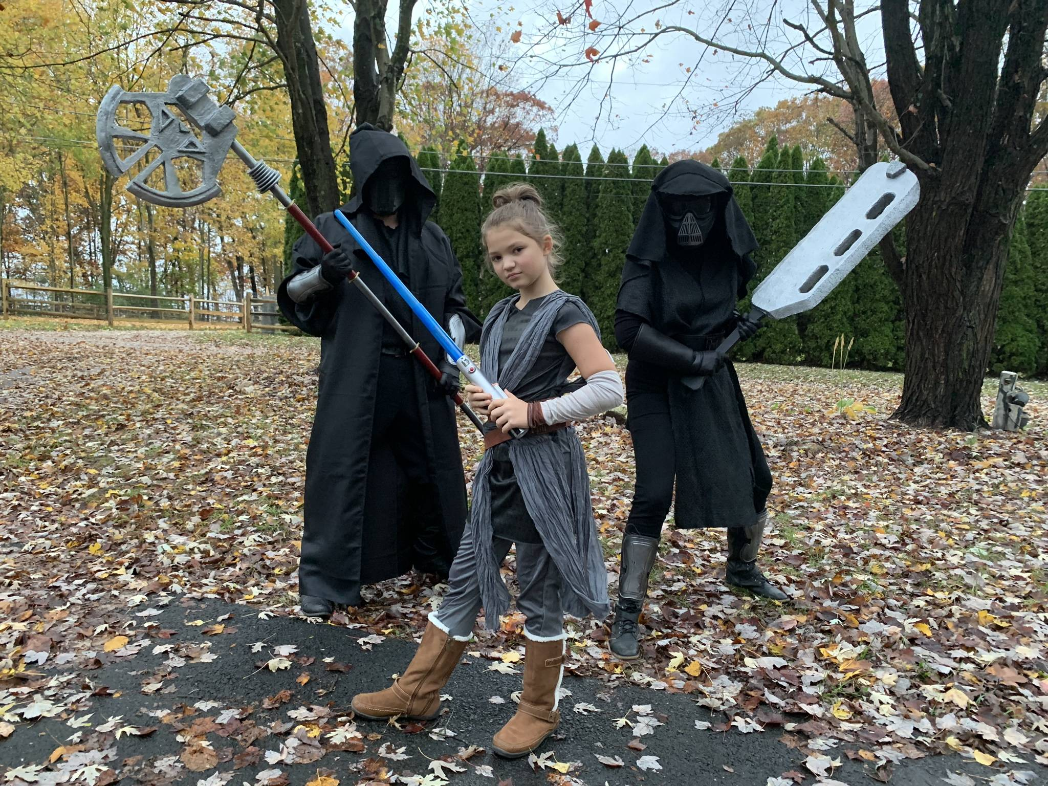 Knights of Ren and mini Rey