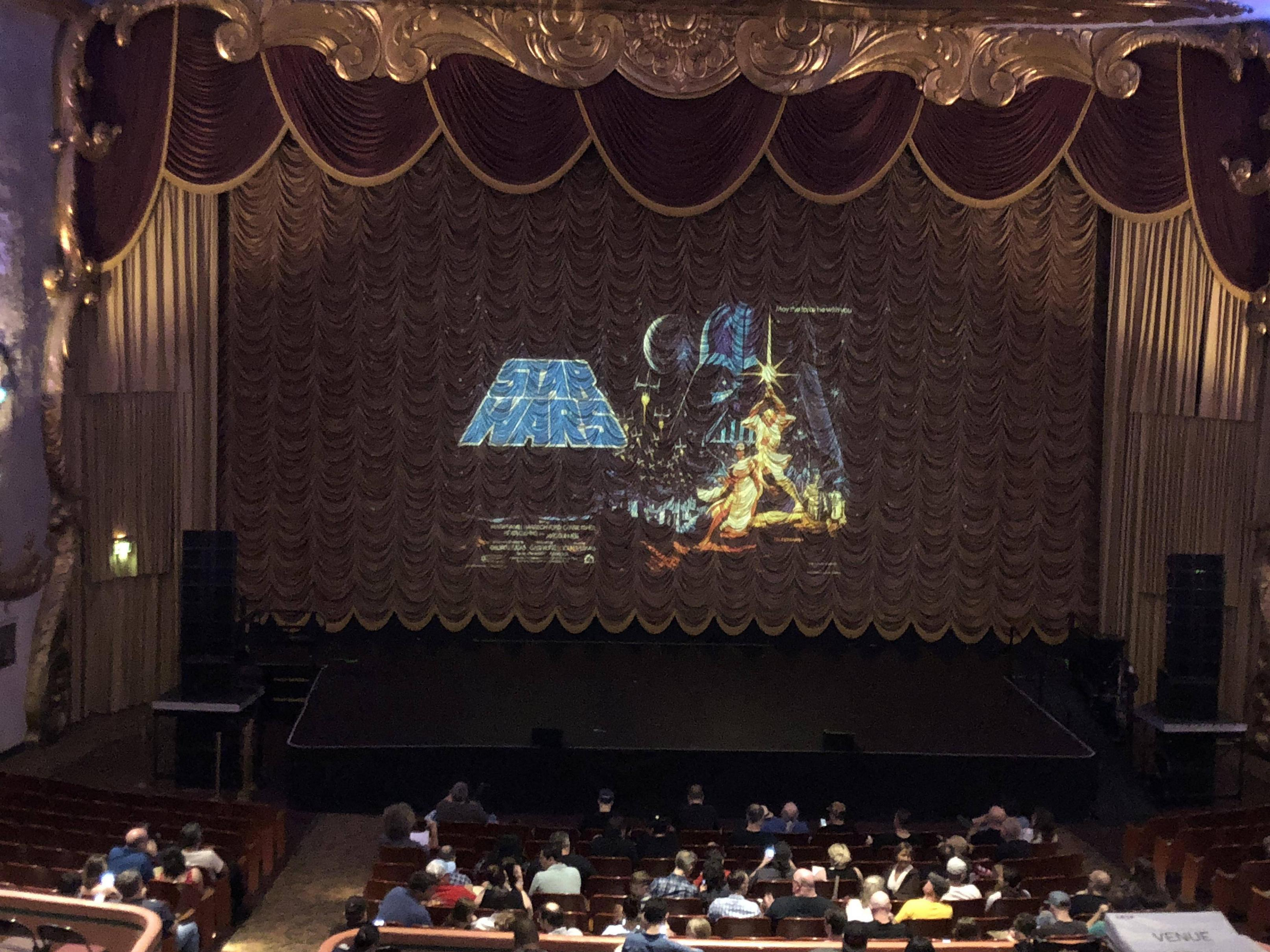 "Got to see ""A New Hope"" in theaters tonight at the Crest in Sacramento! He mentioned it was the first time in 20 years t..."
